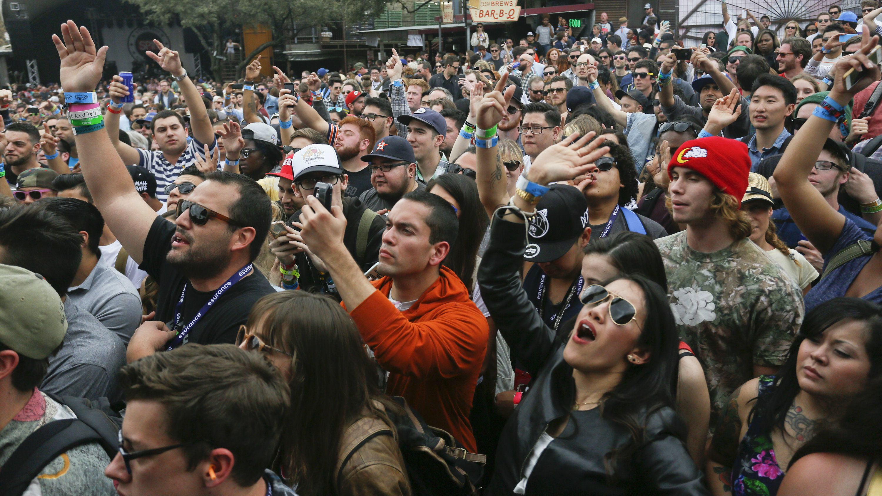 Crowds at SXSW