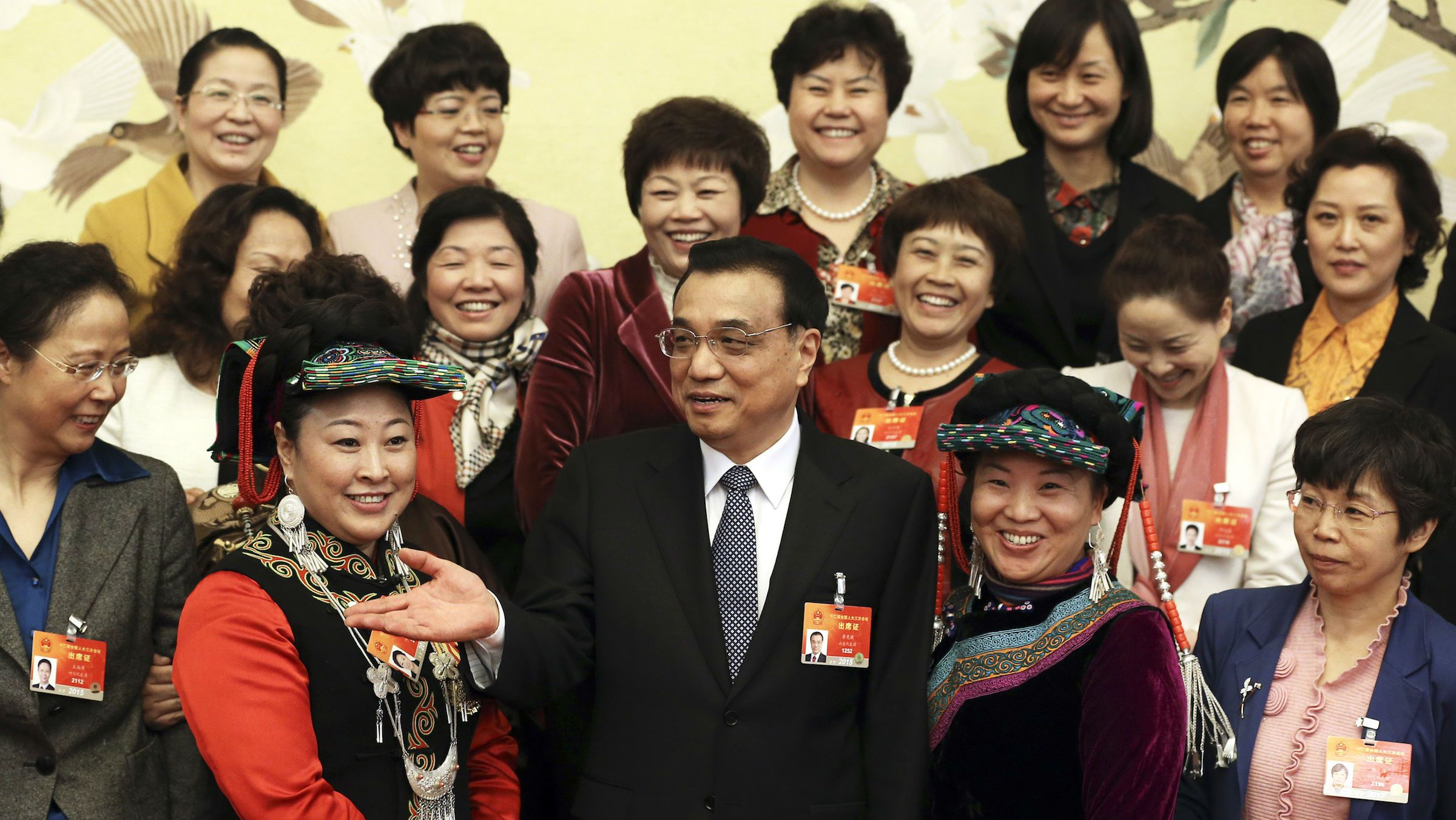 Li Keqiang on International Women's Day