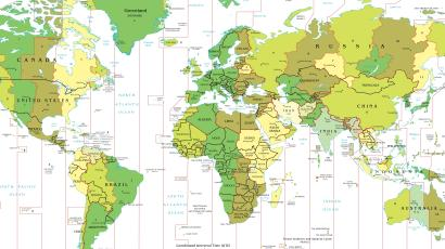 Time Zone Deviants, Part I: the strangest time zones in the world ...