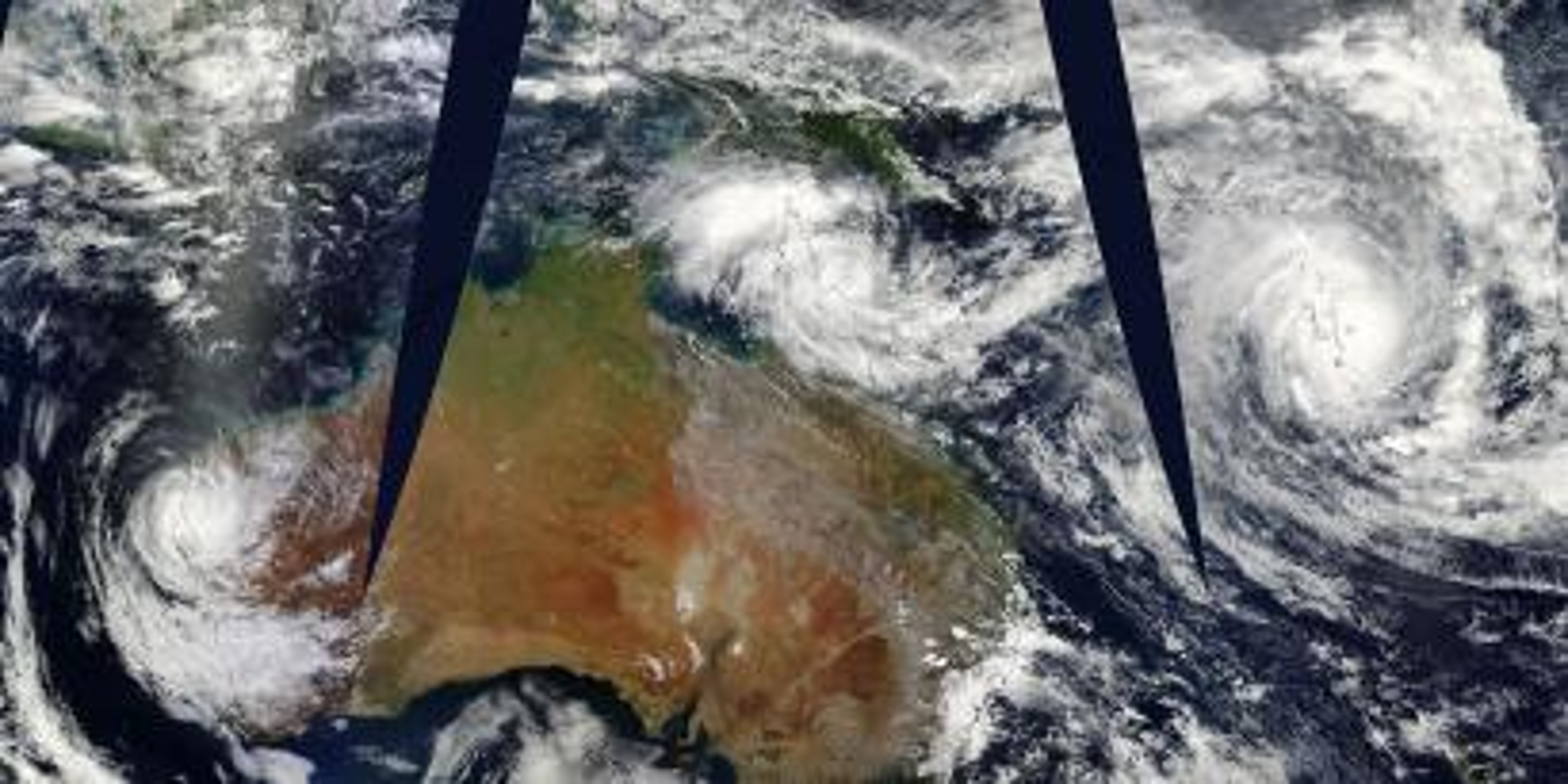 NASA cyclone