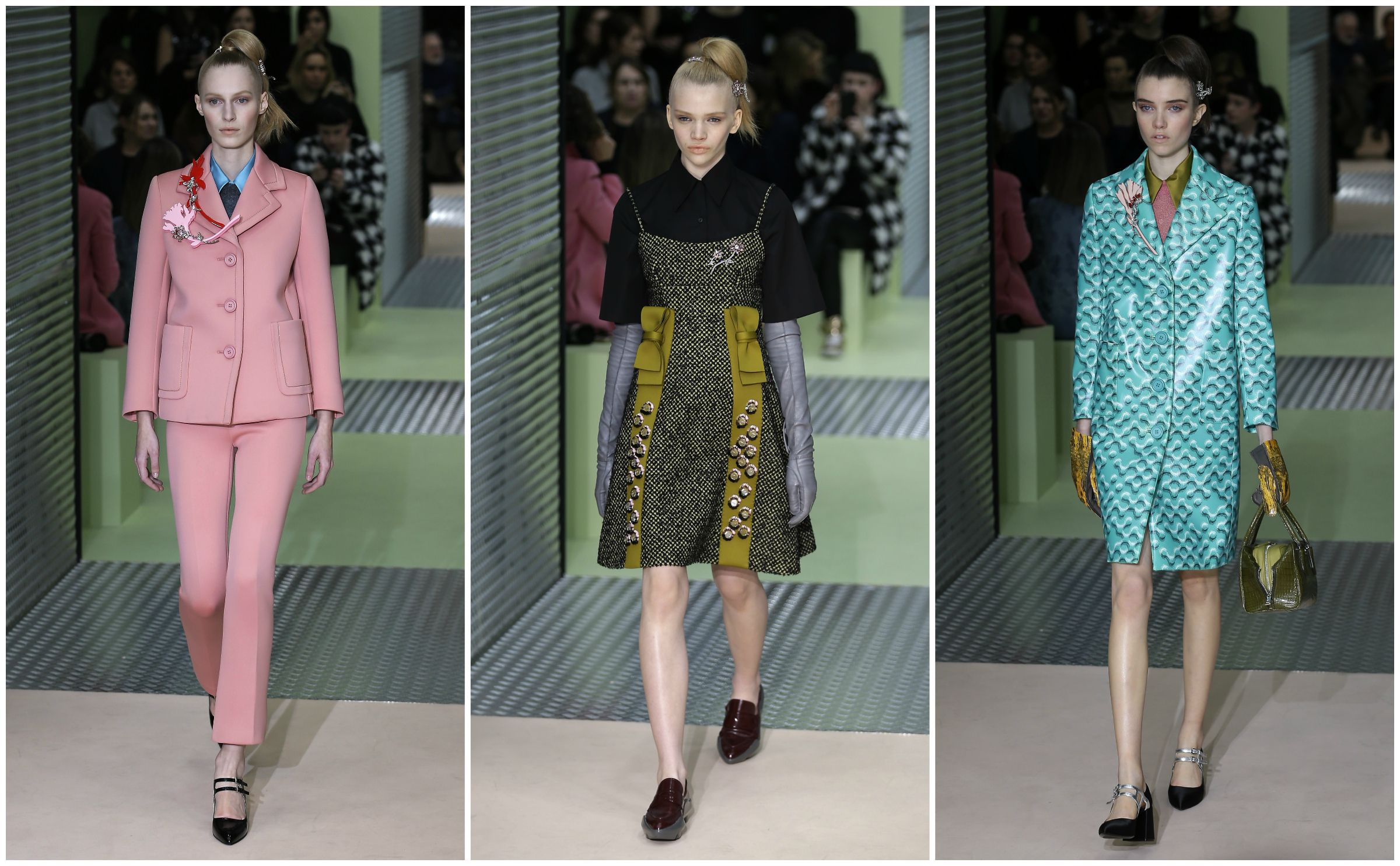 prada, fall 2015, milan fashion week, fashion, style, womenswear, ready to wear