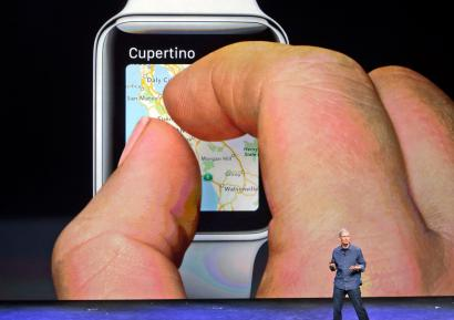 Trying to zoom a map on an Apple Watch