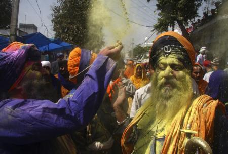India-Holi-Holla Mohalla