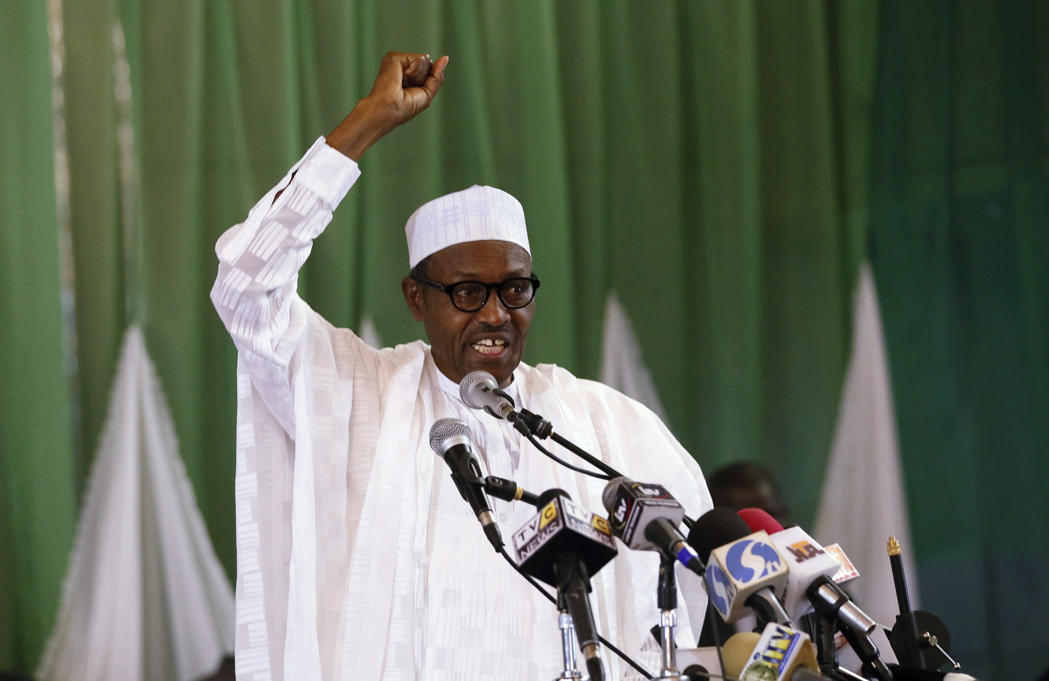 Opposition presidential candidate Muhammadu Buhari