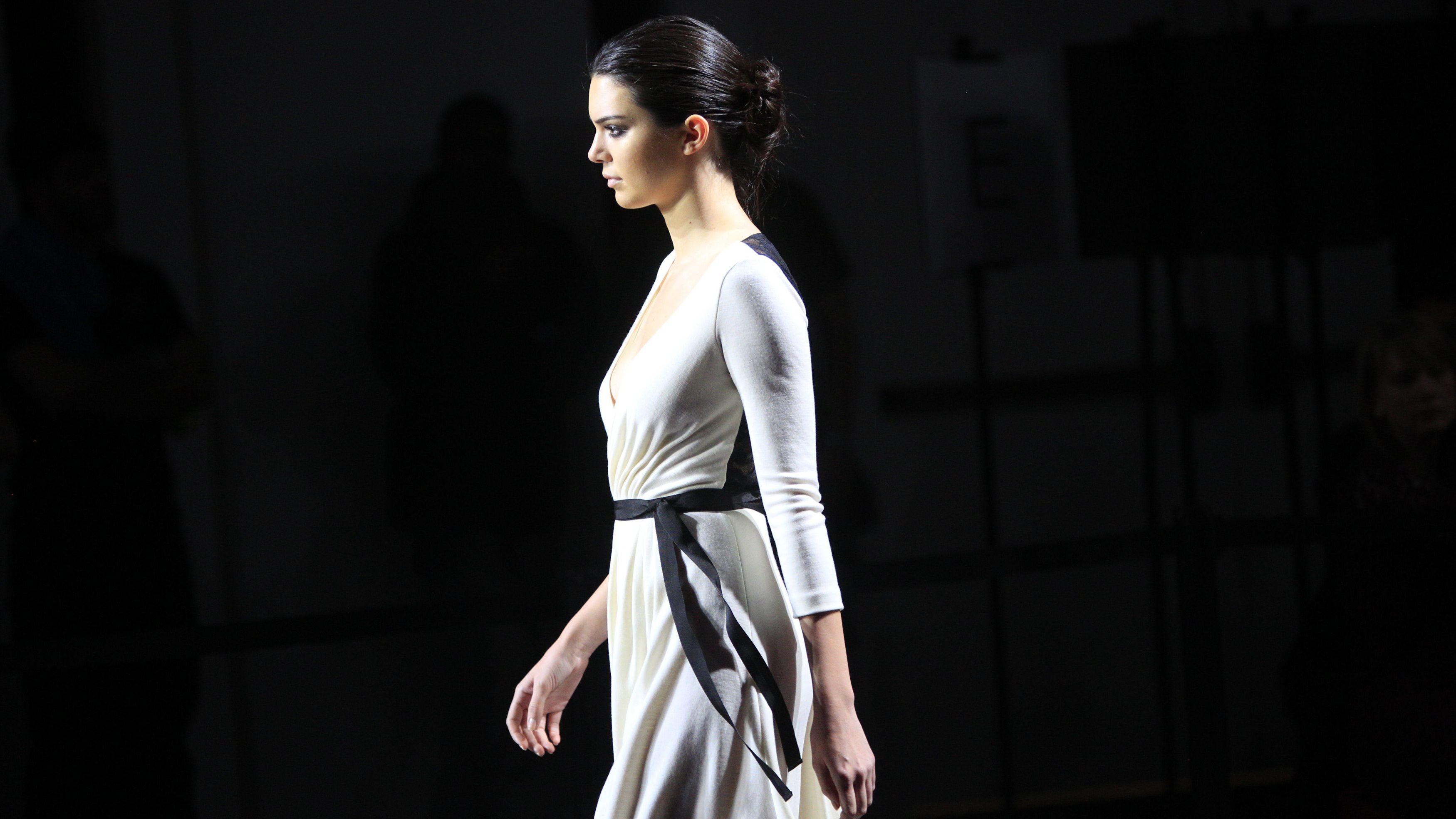 kendall jenner, new york fashion week, diane von furstenberg, fashion, style, lifestyle, instagram