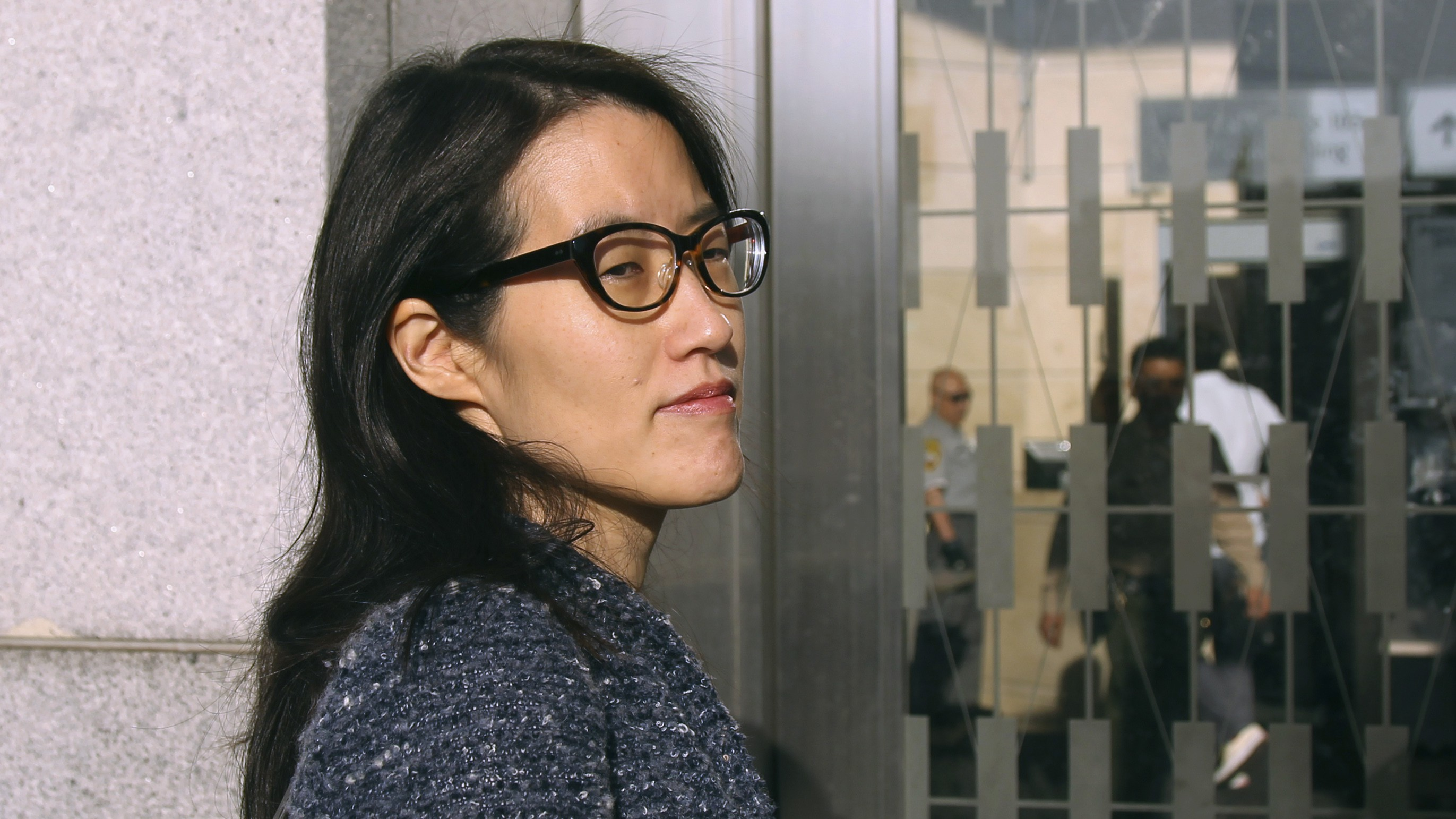 Ellen Pao arrives at San Francisco Superior Court in San Francisco, California March 3, 2015.