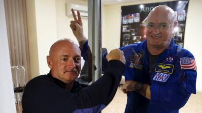 Astronaut Scott Kelly will return from a year in space both