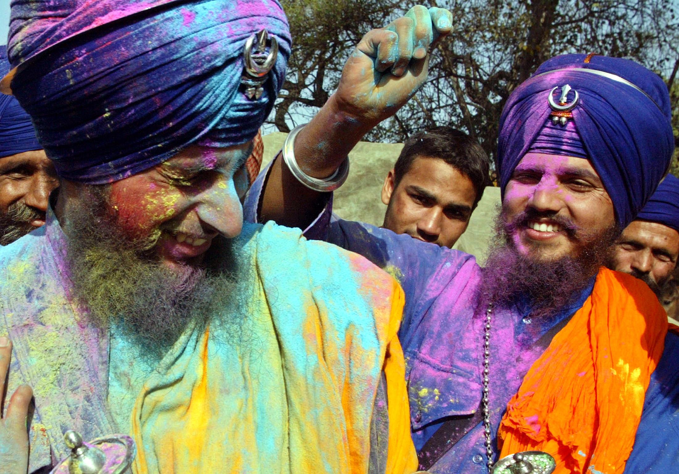 India-Holi-Anandpur Sahib