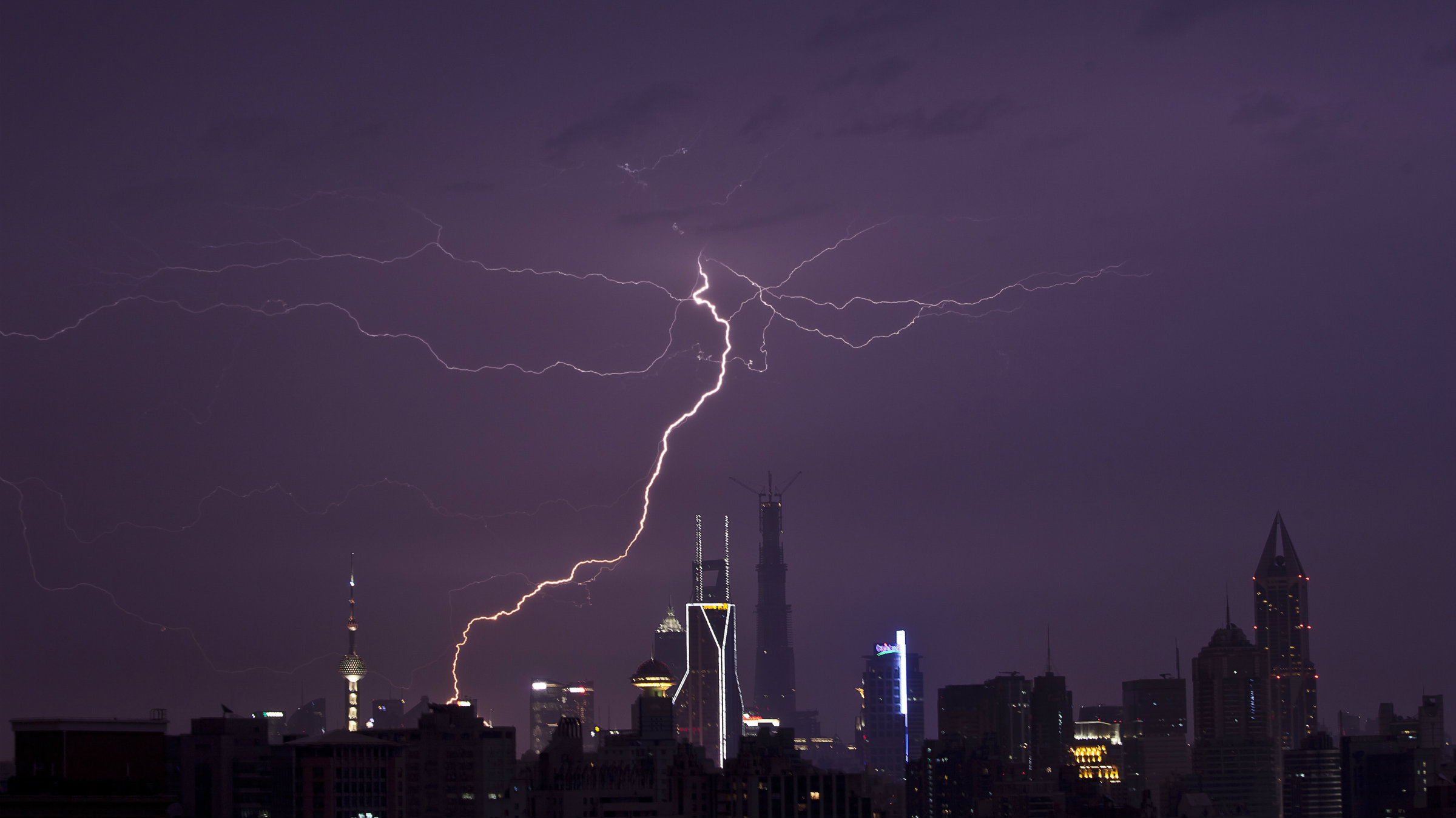 Shanghai lightning