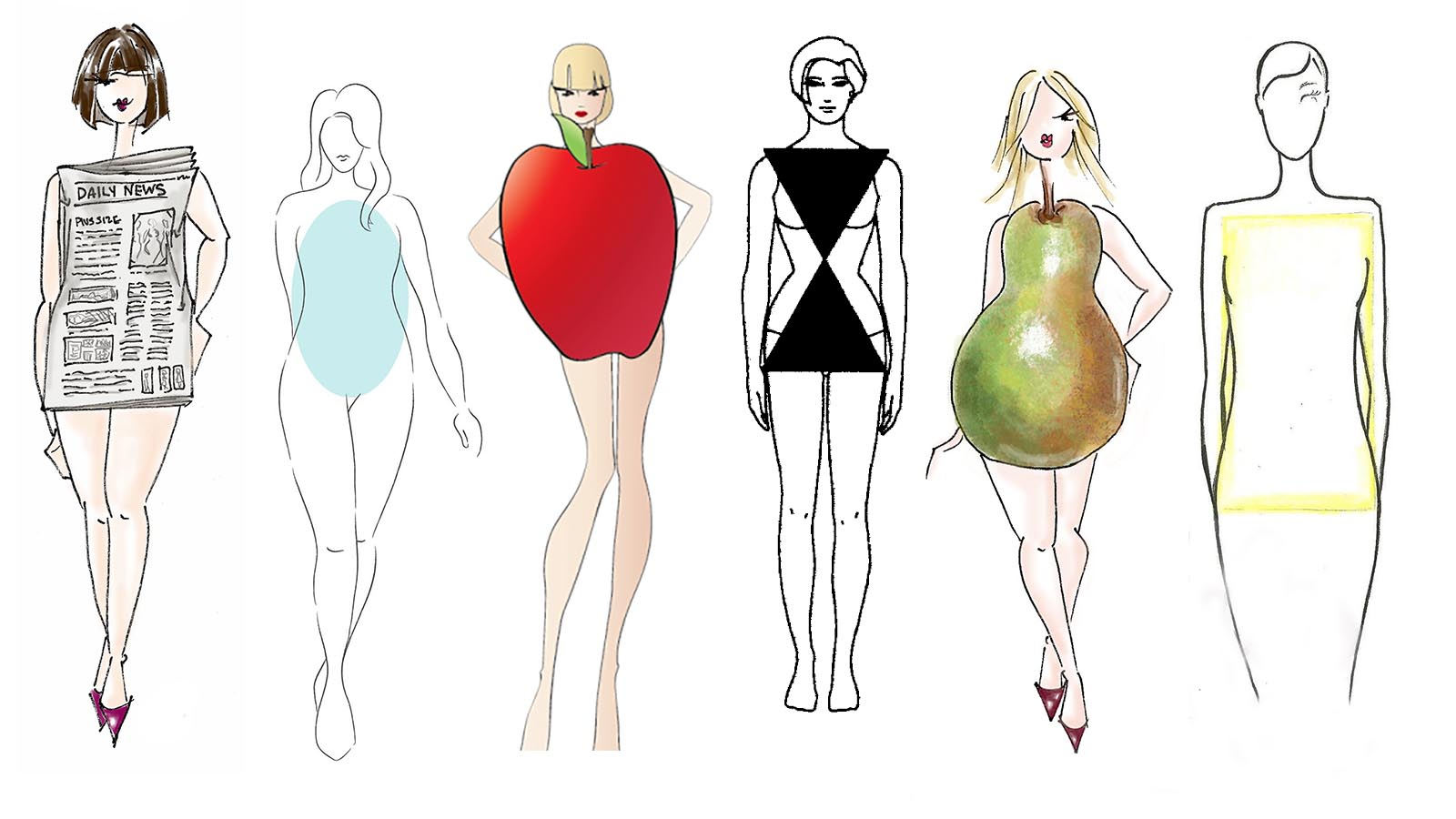 It S Time We Stop Comparing Women S Body Shapes To Fruit