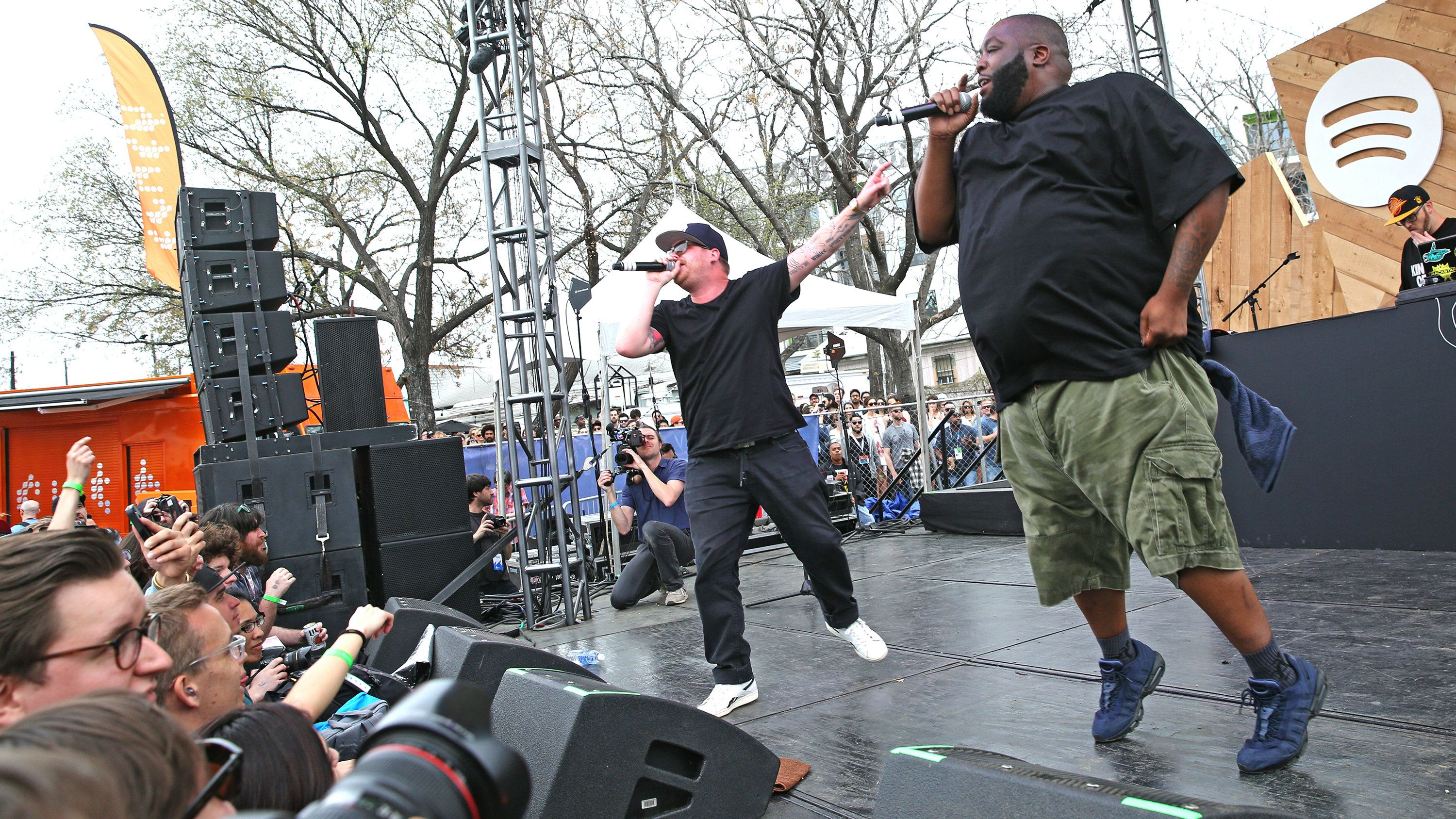 Run The Jewels perform at the Spotify House on Monday, March 16, 2015, in Austin, TX.