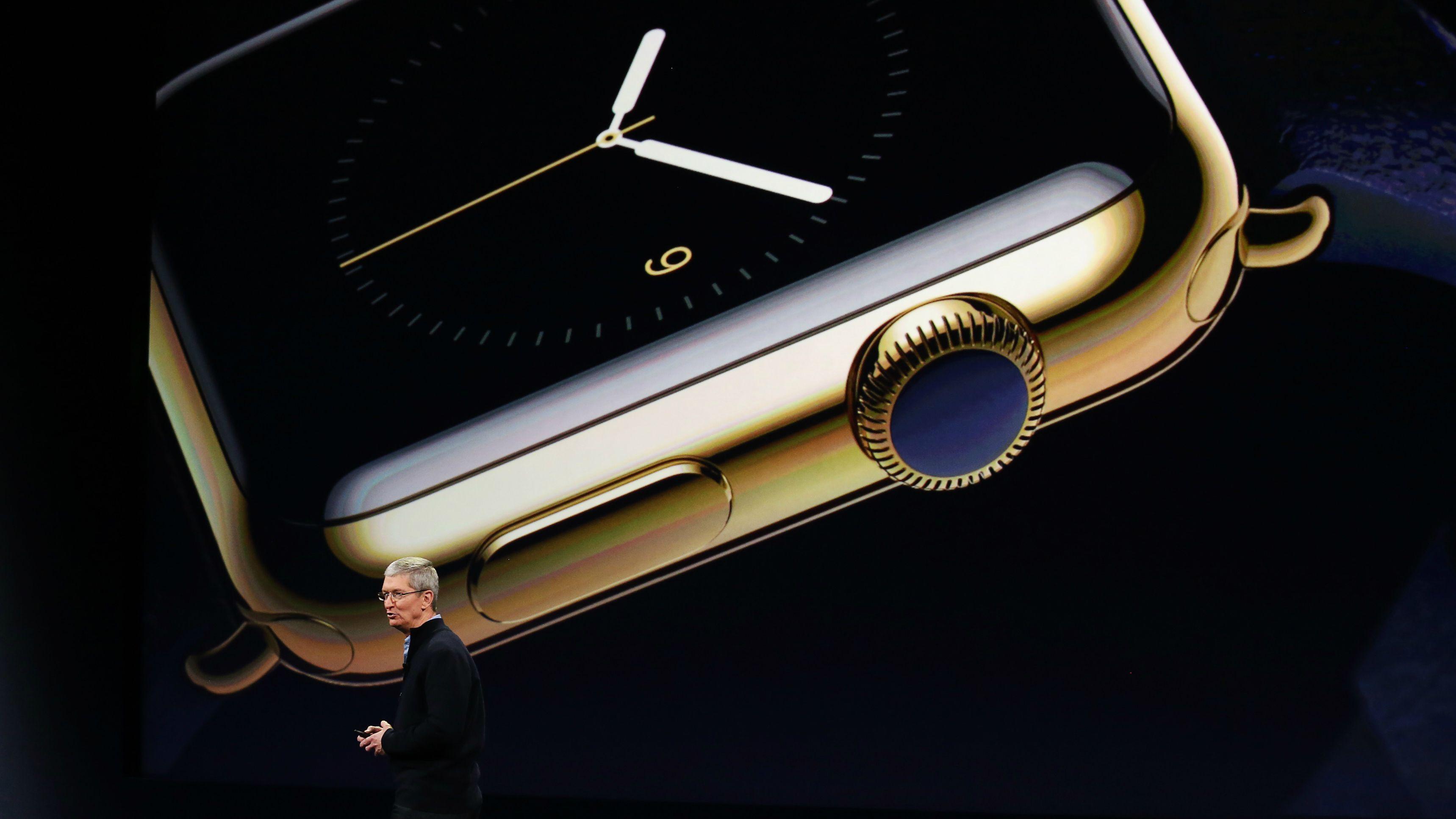 The gold Apple Watch is dead