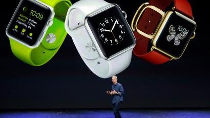 Apple CEO Tim Cook and Apple Watch