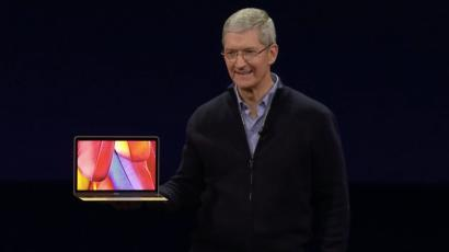 Tim Cook MacBook