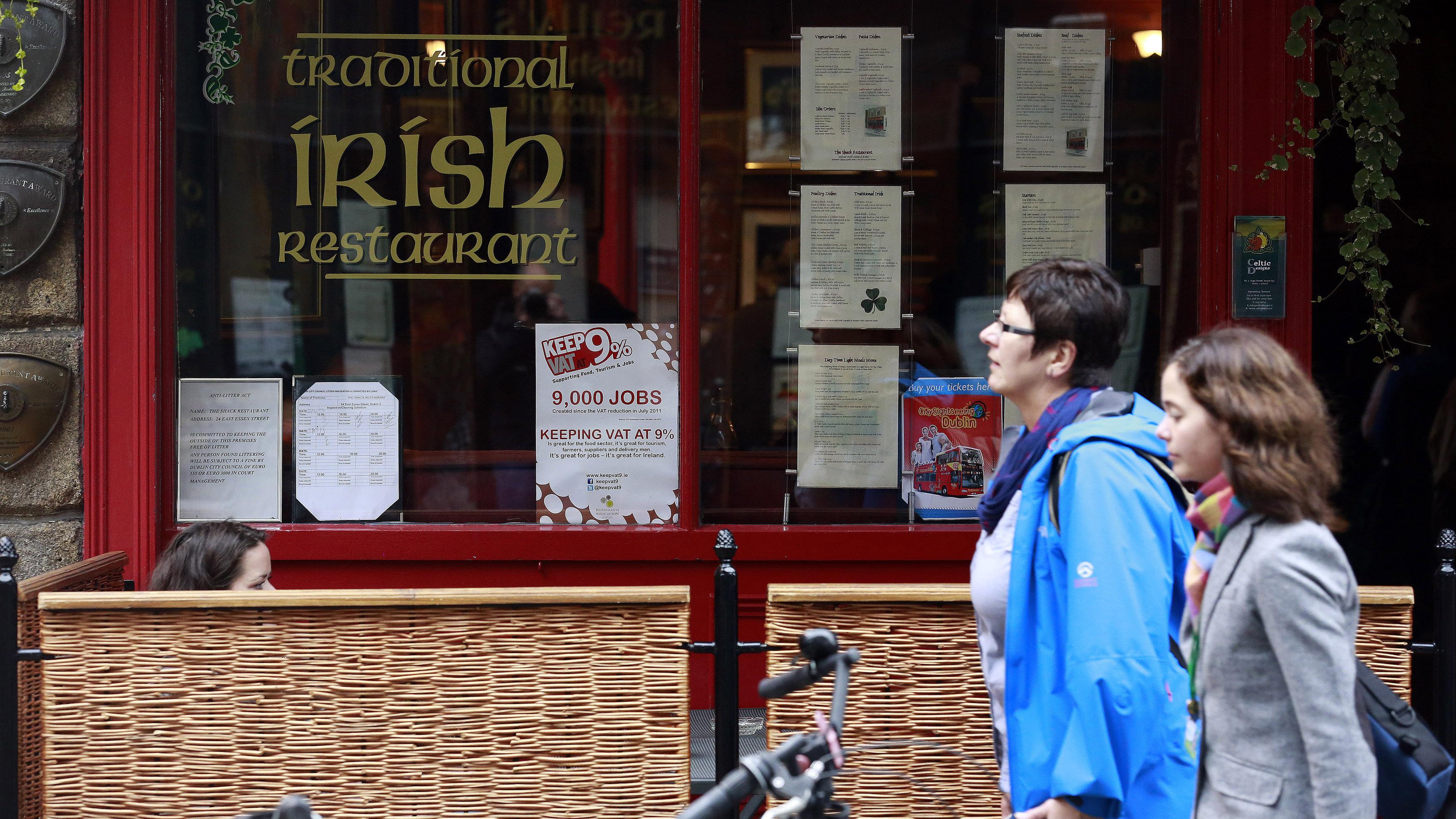 traditional irish restaurant