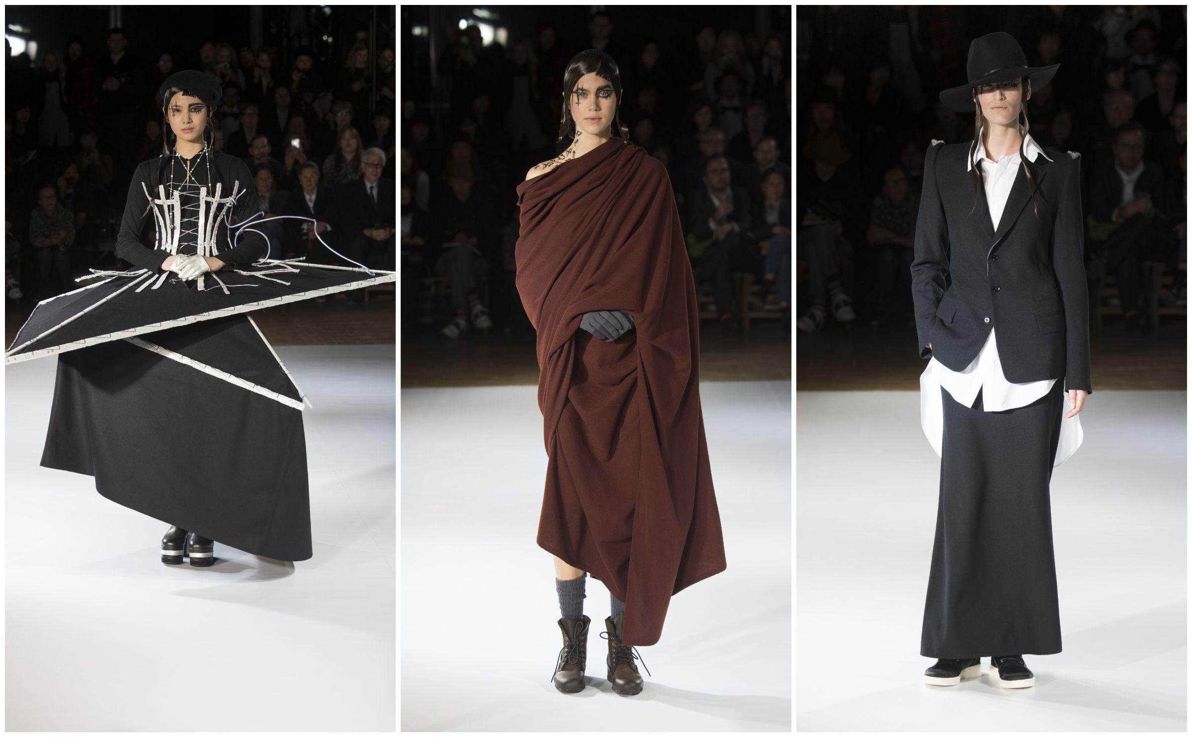 yohji yamamoto, paris fashion week, fashion, style, fall 2015, ready to wear,