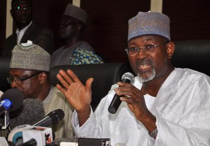 ndependent National Electoral Commission Chairman, Attahiru Jega,