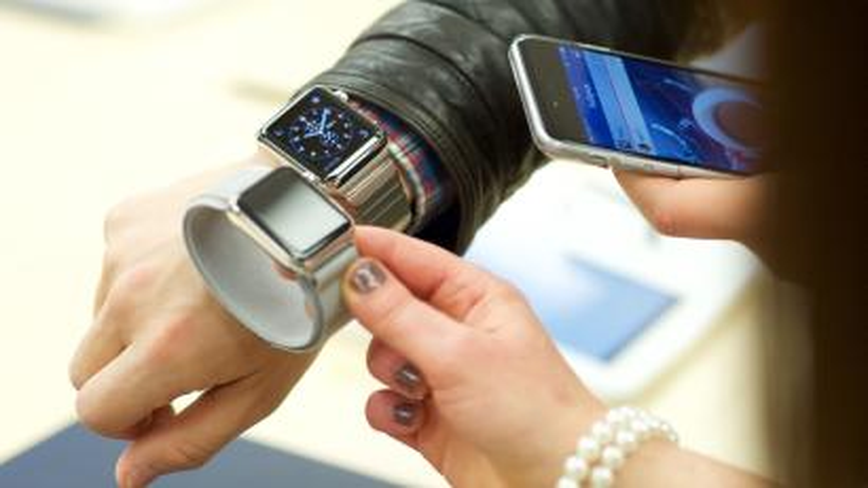 Apple Watch fitting