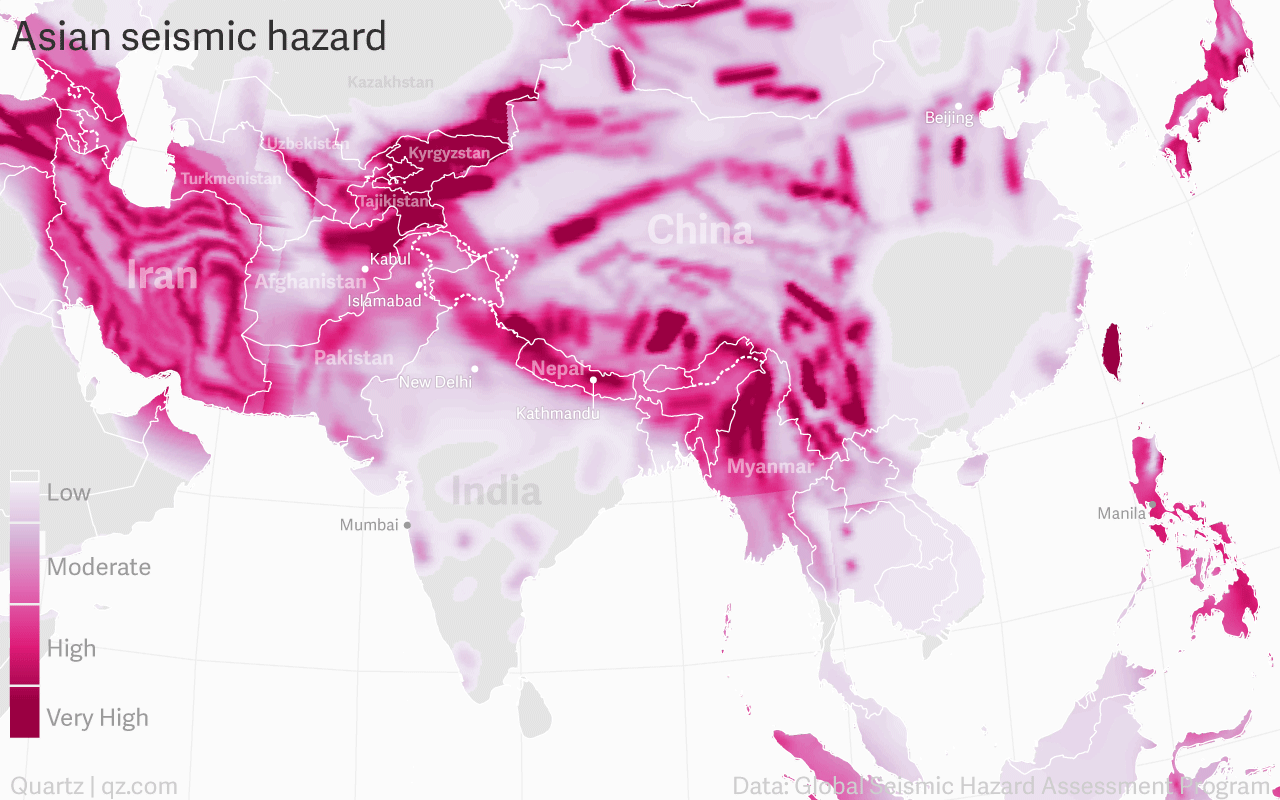 asian_seismic_hazard_world_robinson_eq_risk