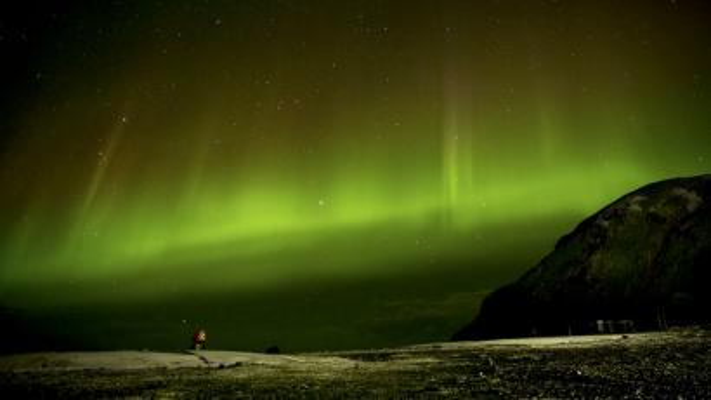 A night sky from Macquarie Island