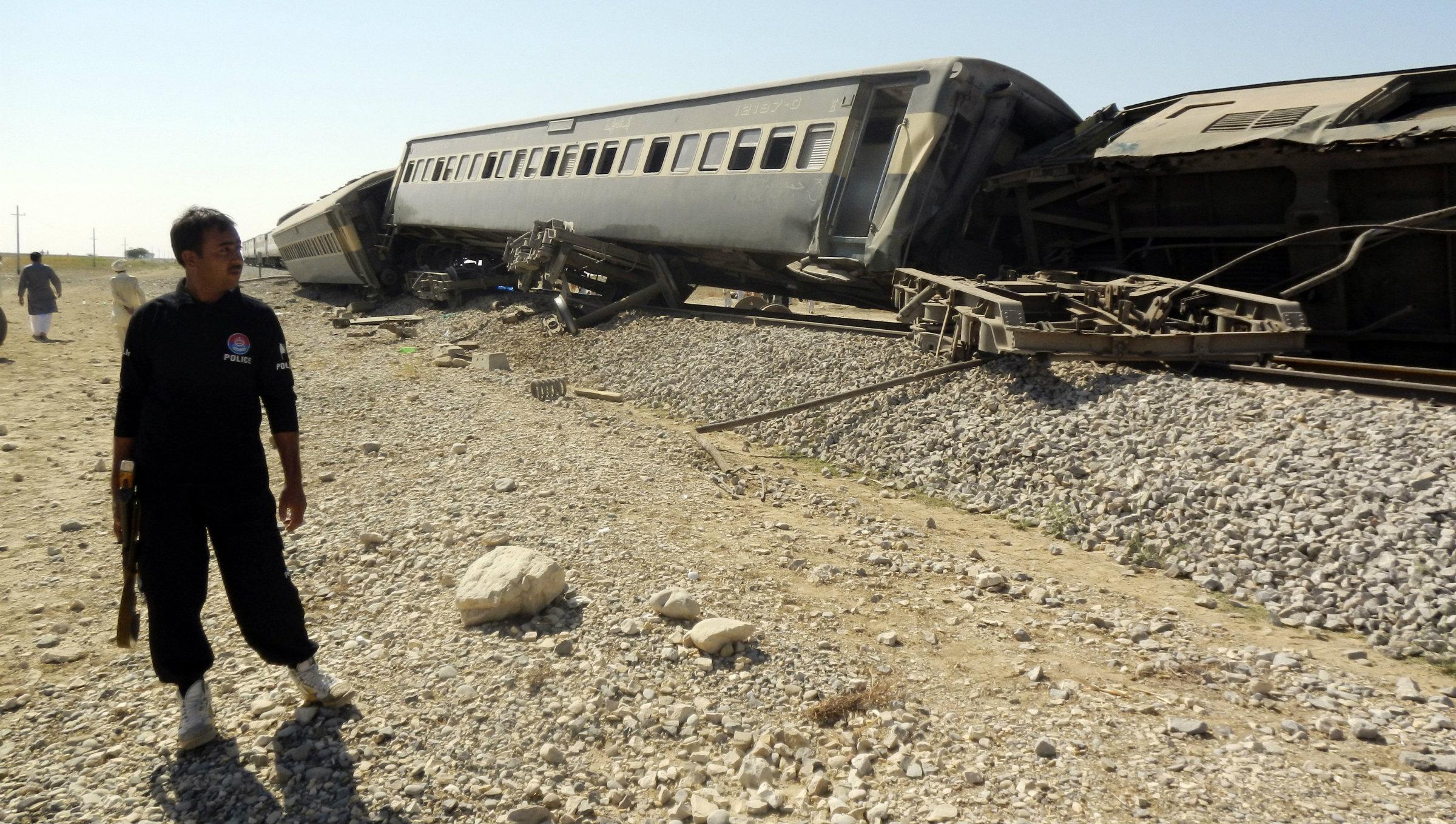 Balochistan passenger train attack 2013