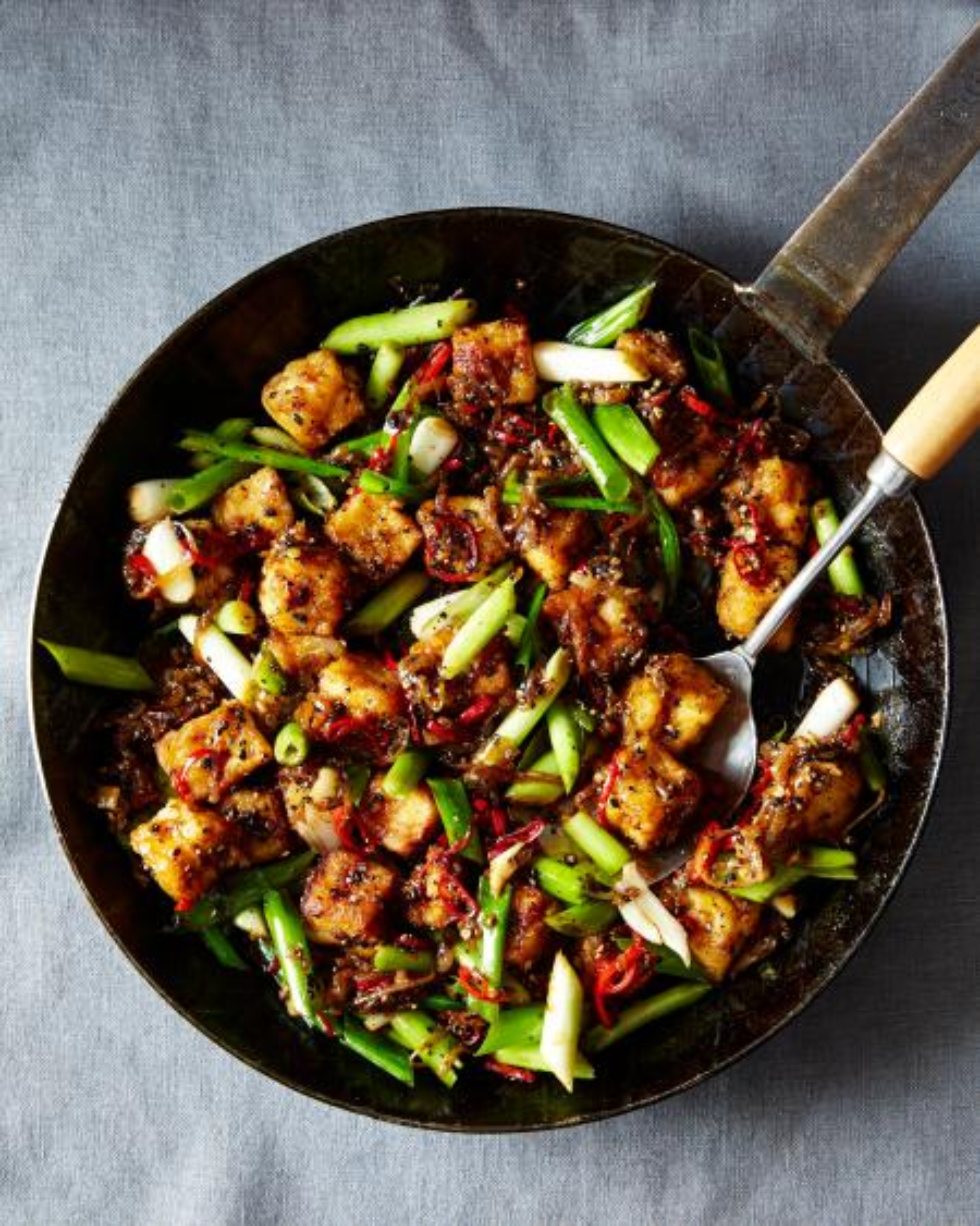 food porn, food52, genius recipes, black pepper tofu