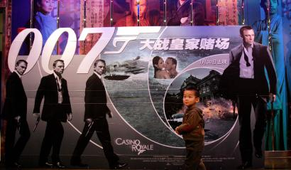 """Sony brought 007 to China with """"Casino Royale."""""""