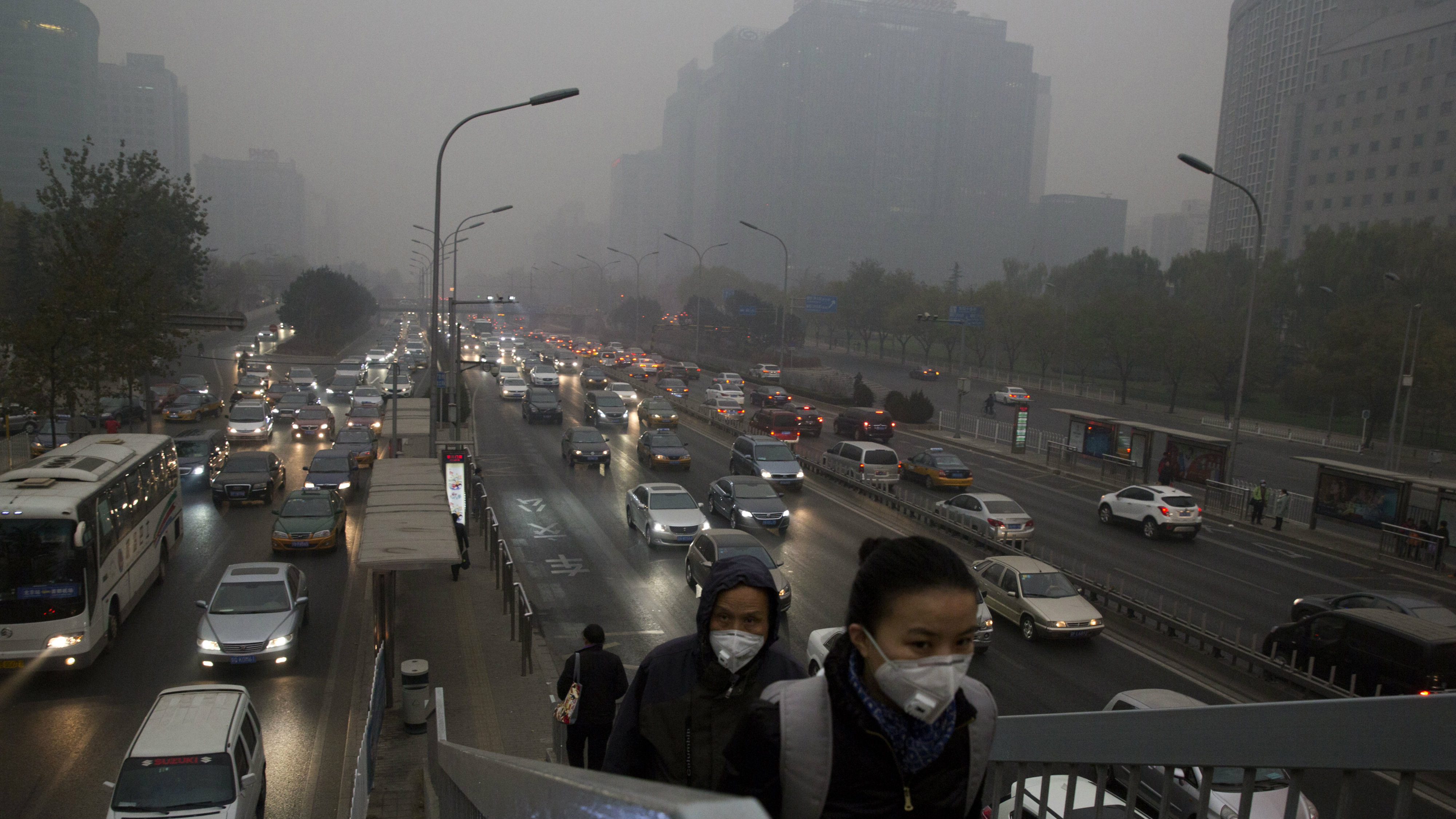 beijing pollution peaks at midnight and other sobering
