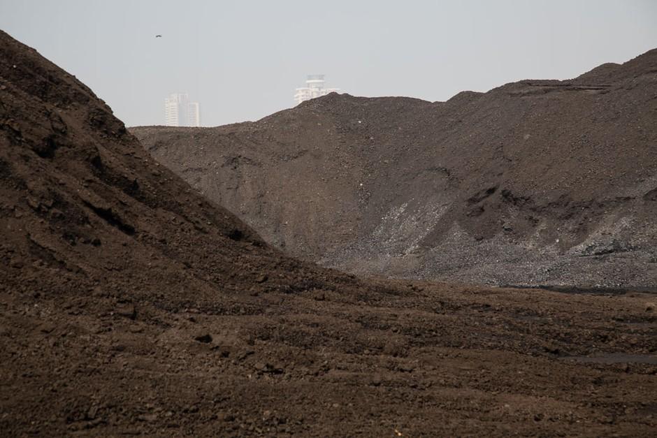 coal dumping area