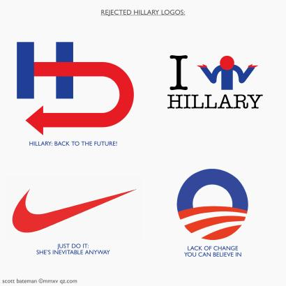 hillary.clinton.rejected.logos