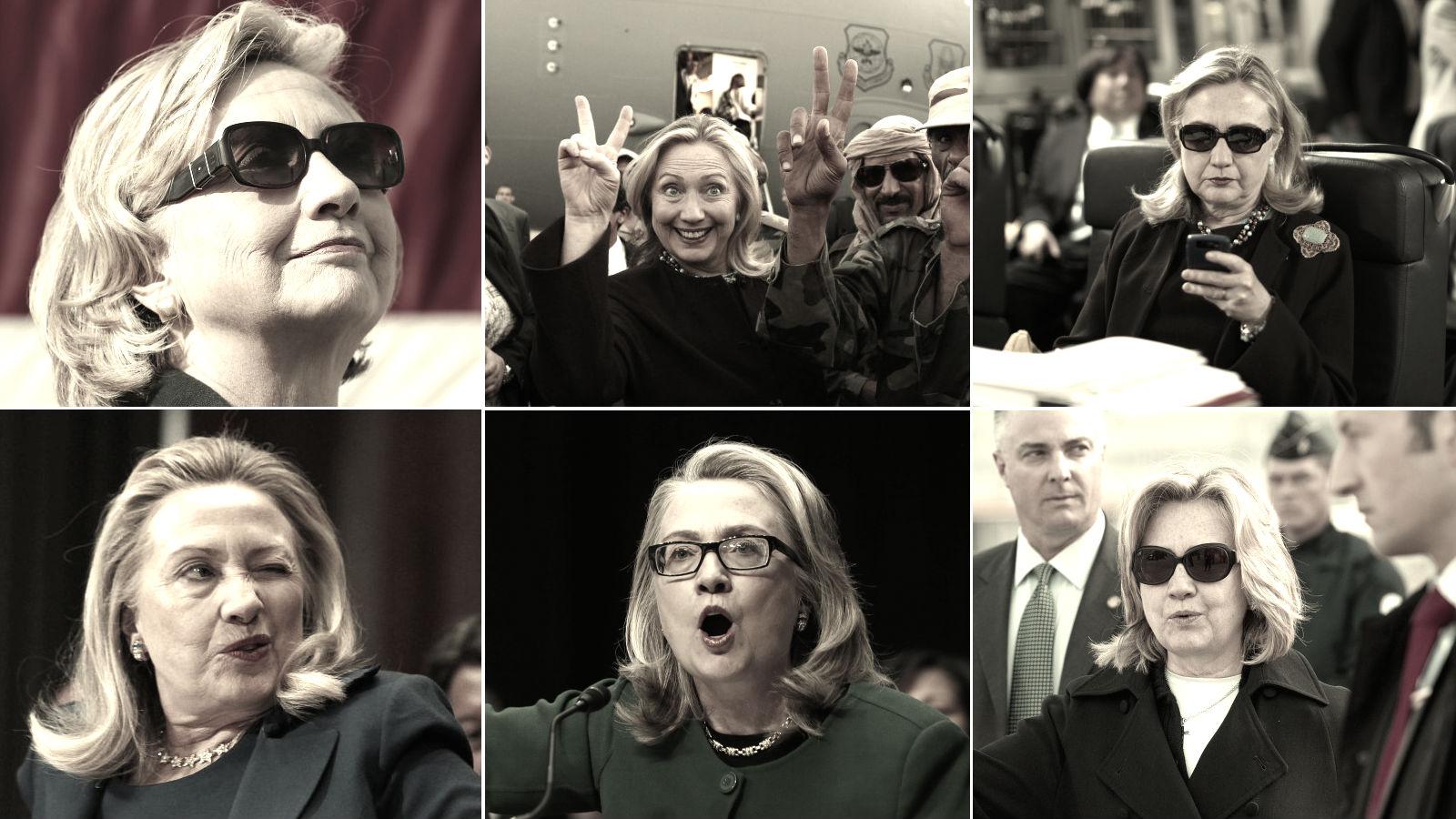 Headshot of Hillary Clinton