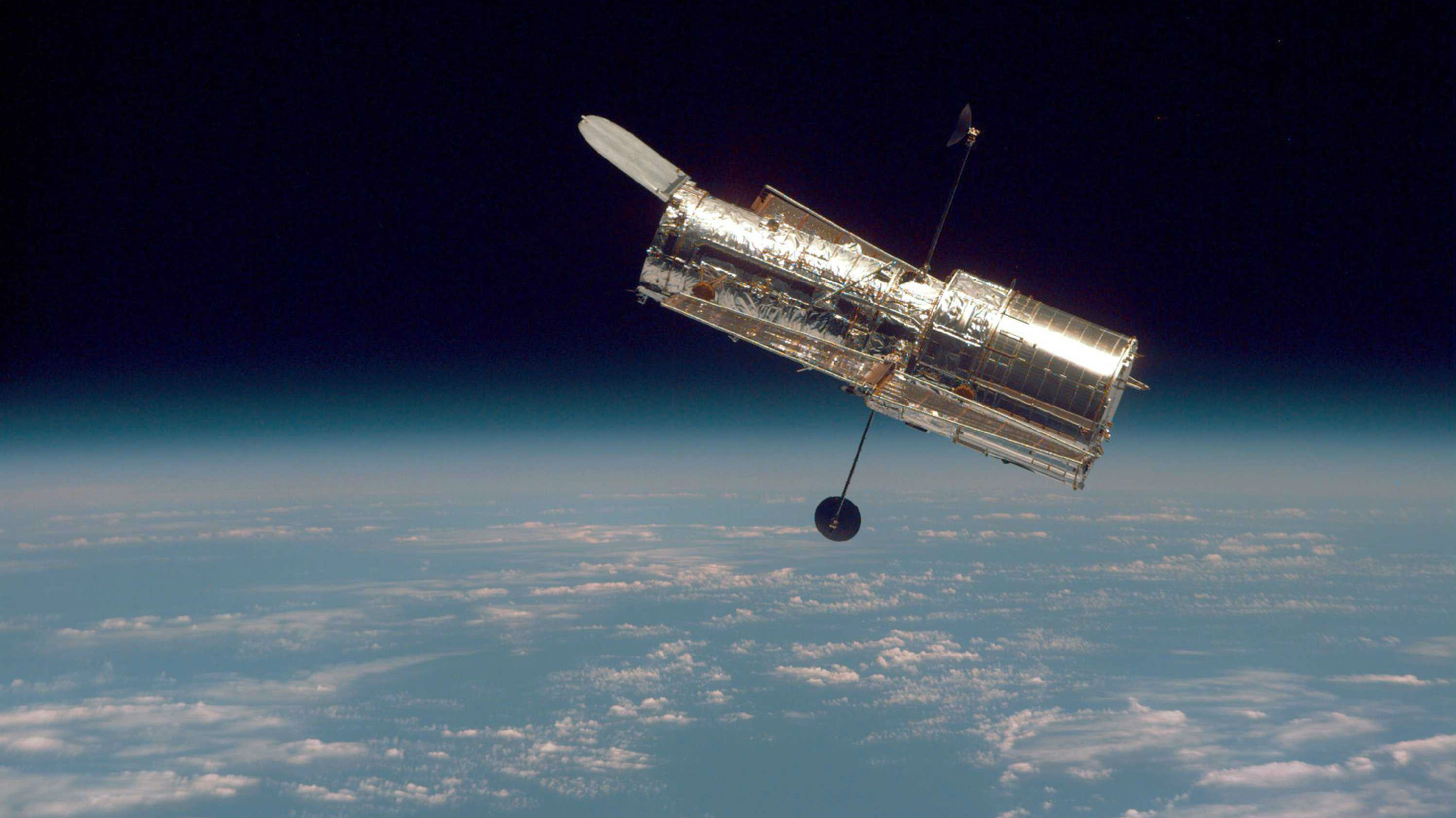 Hubble and Earth