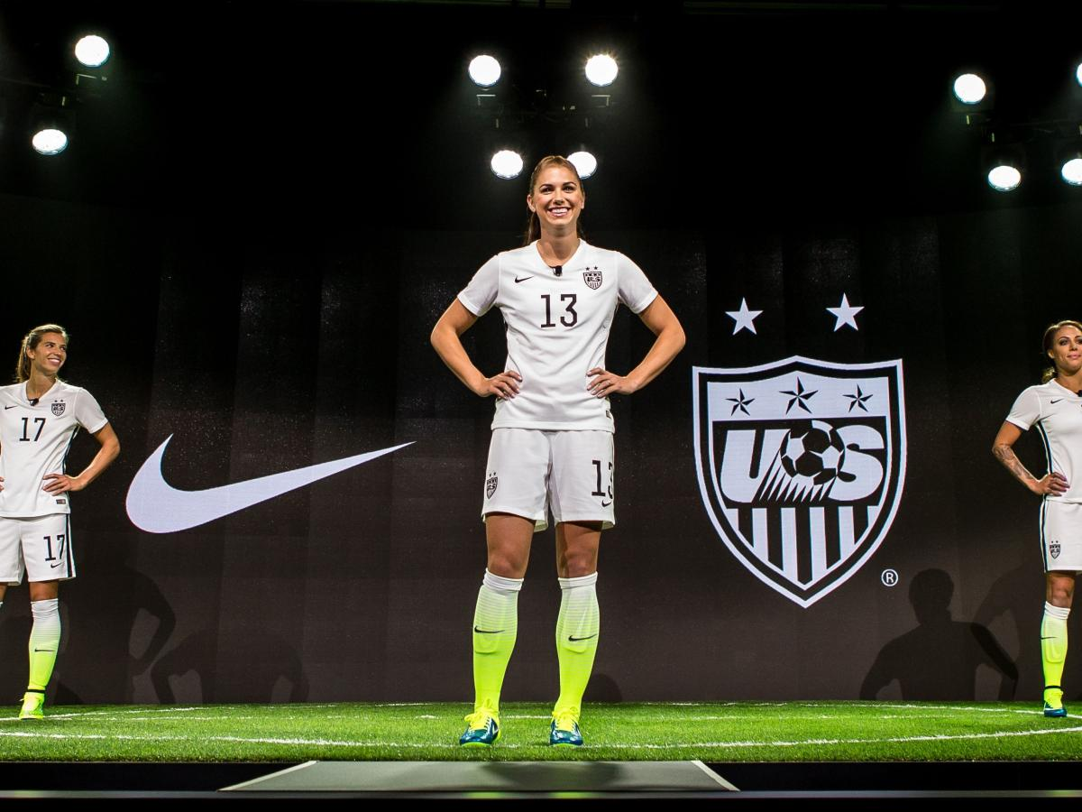 929b1541951 Nike is releasing its US women s soccer jerseys in men s sizes for the first  time ever — Quartz
