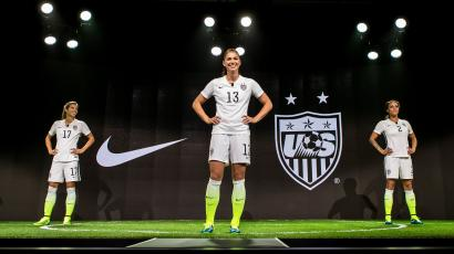 fddd24c1a Nike is releasing its US women s soccer jerseys in men s sizes for the  first time ever