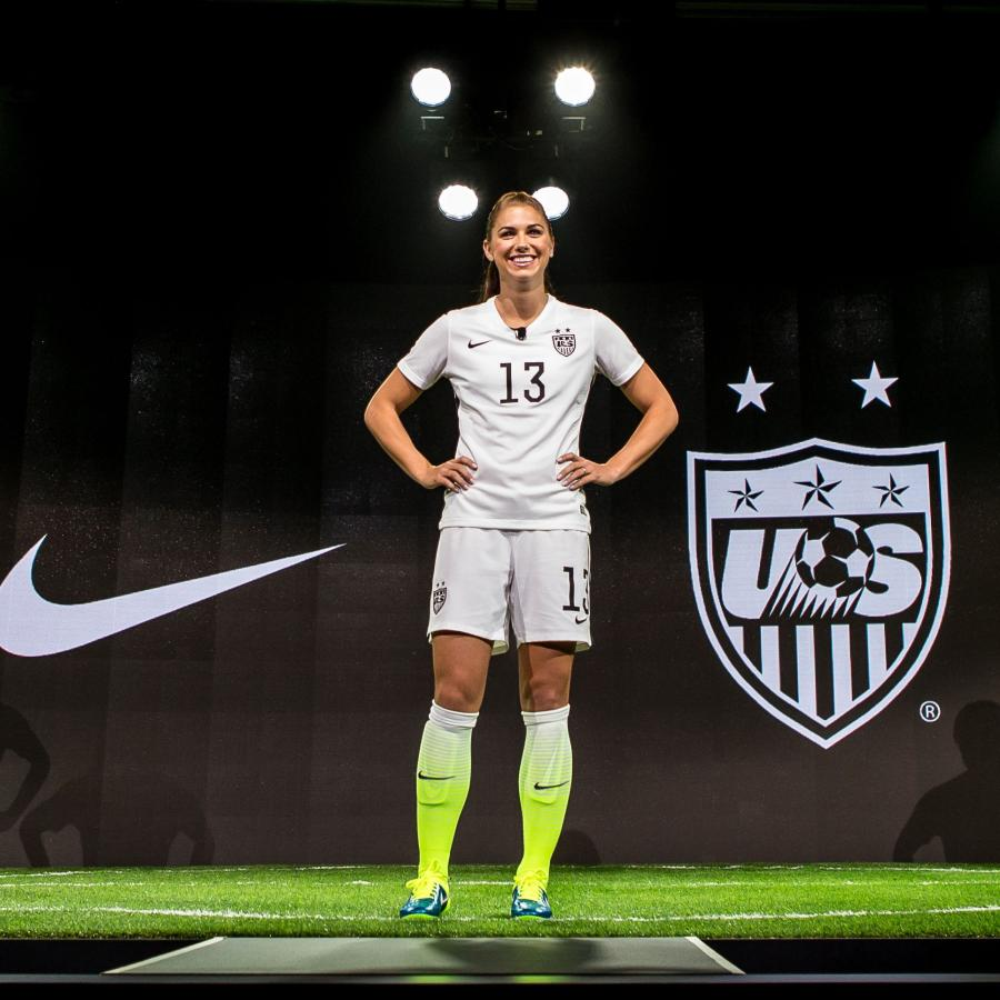 e1bbc453d046 Nike is releasing its US women s soccer jerseys in men s sizes for the  first time ever — Quartz
