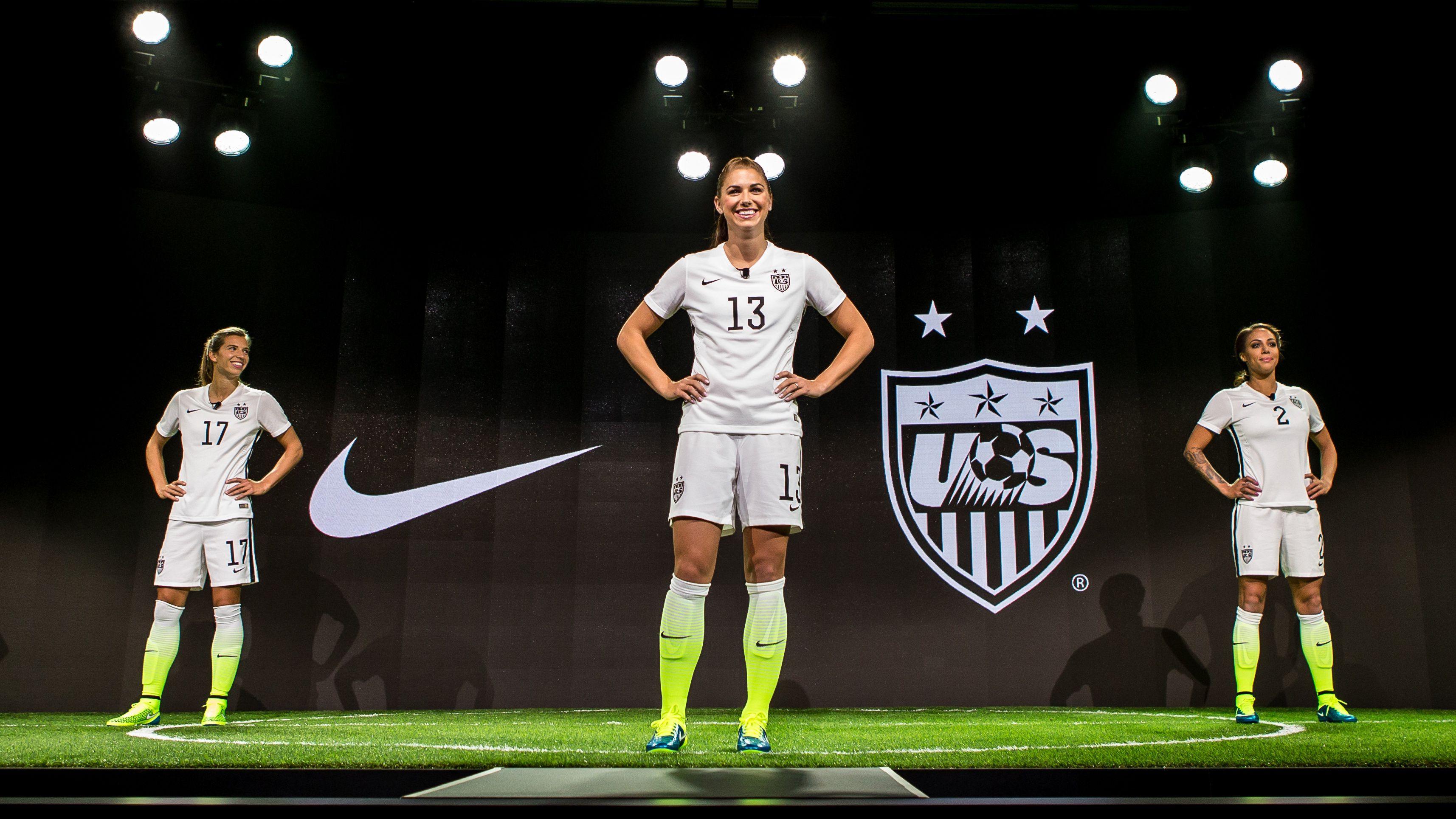 Nike's US women's soccer jerseys
