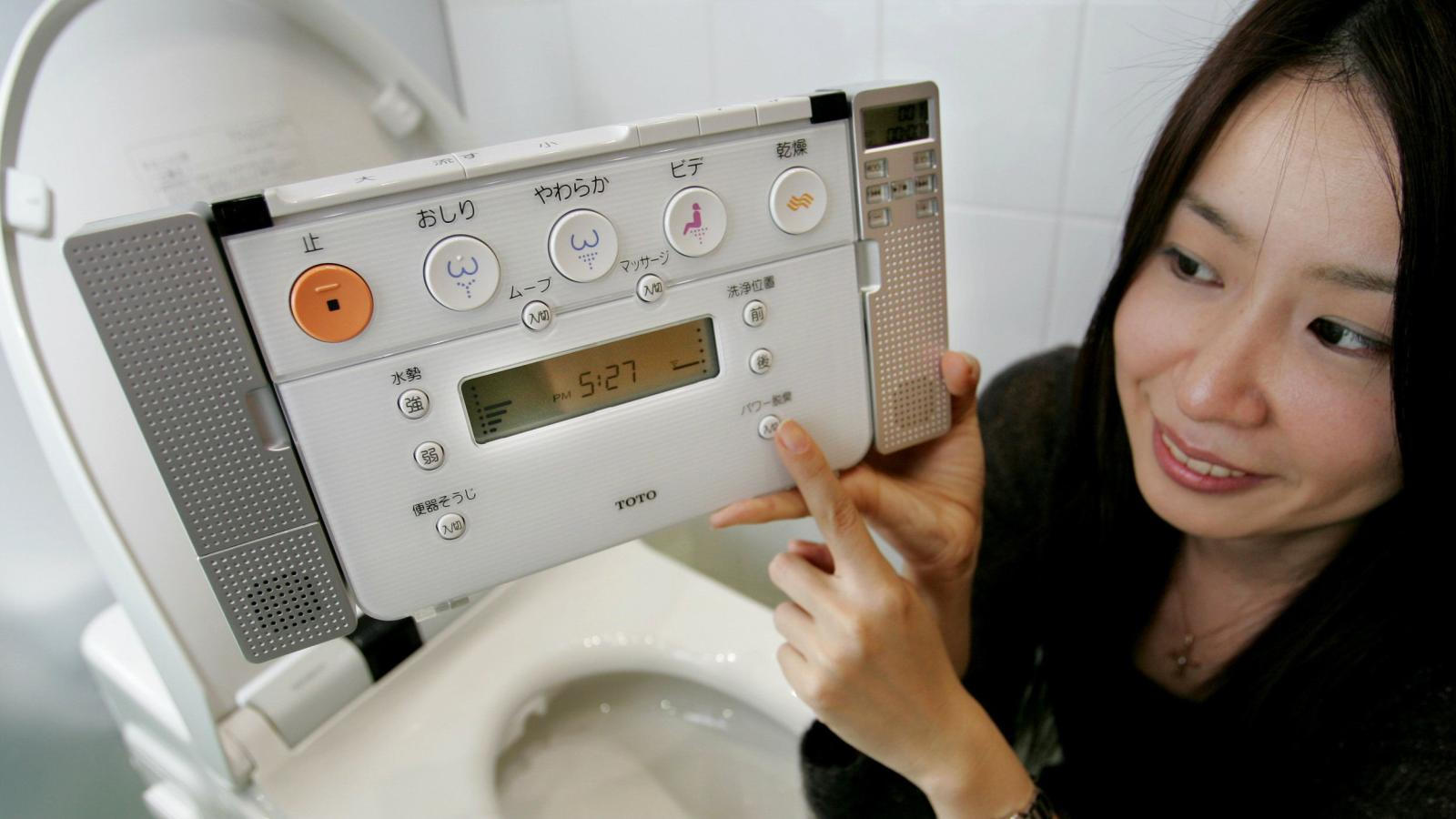 Japan tracks electronic toilet seat sales as a measure of national ...