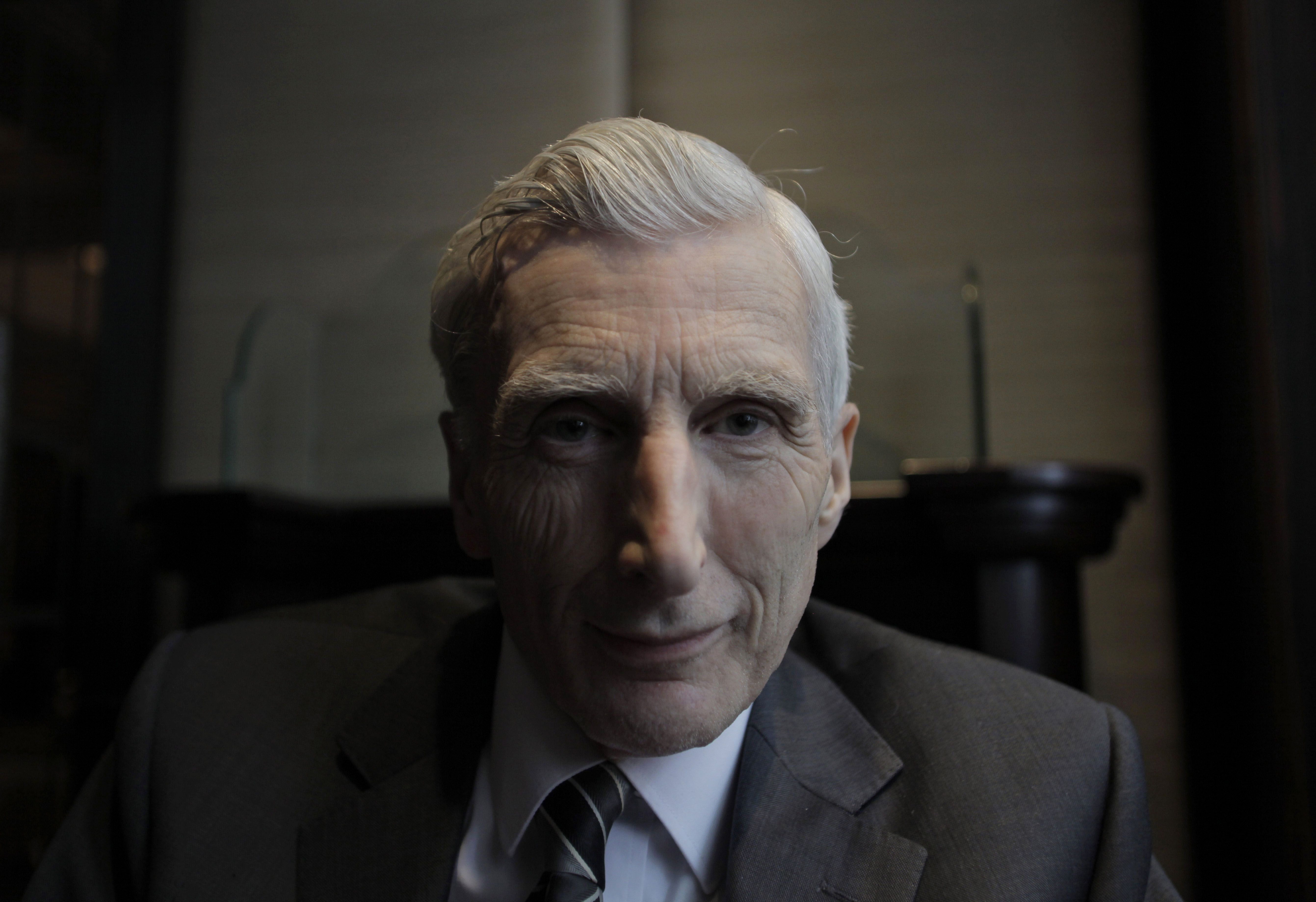 British astrophysicist Martin Rees, the founder of CESR.