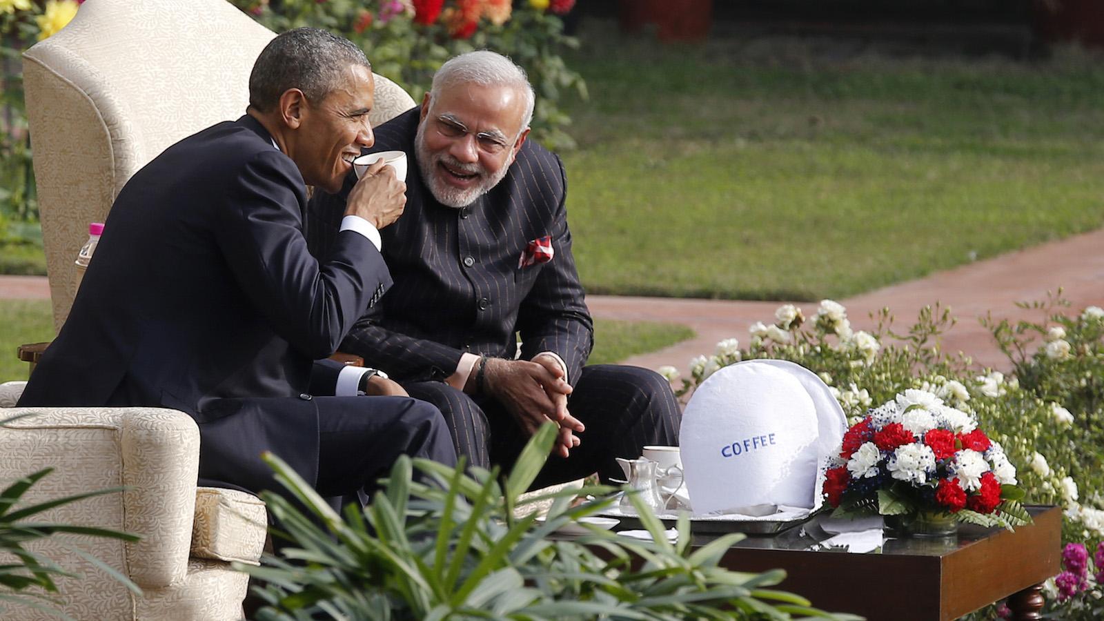 Narendra Modi-Barack Obama-Time