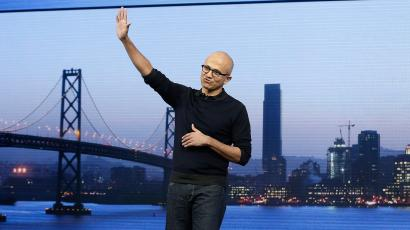 satya nadella ceo microsoft build