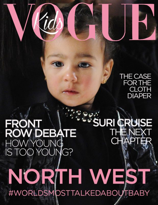 Fashionista's fictitious Vogue cover