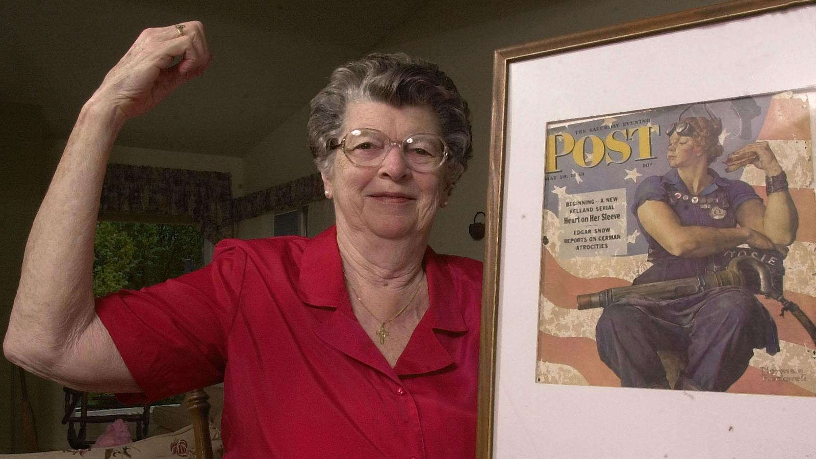 The Woman Who Inspired Rosie The Riveter Has Died At 92 Quartz