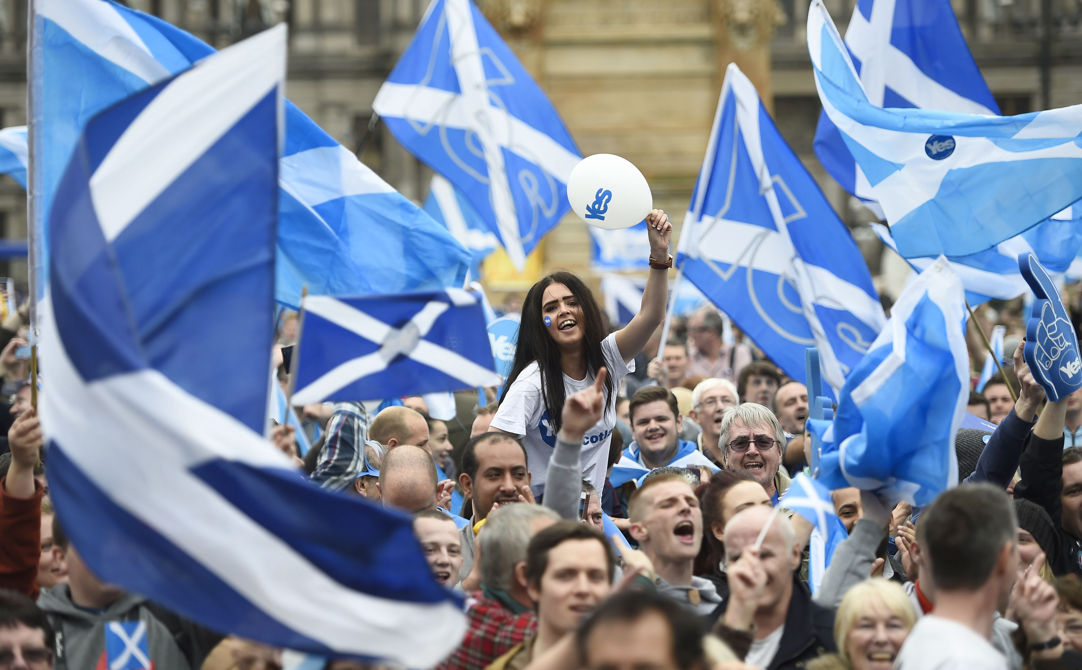 Young people were at the forefront in Scotland's referendum.