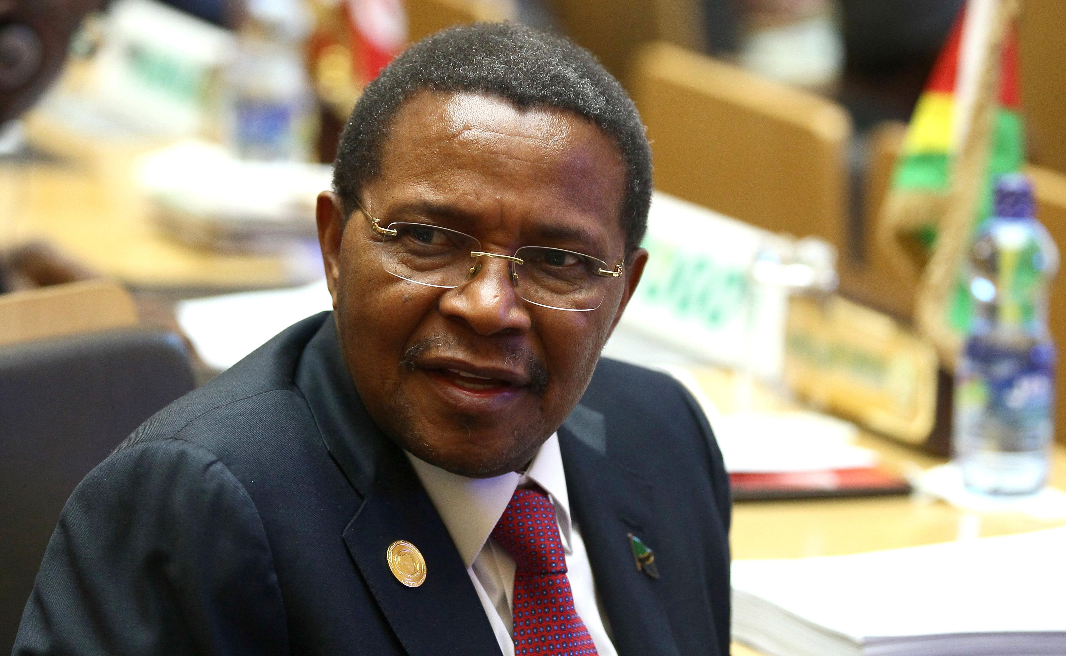 Tanzania's President Jakaya Kikwete attends the 24th Ordinary