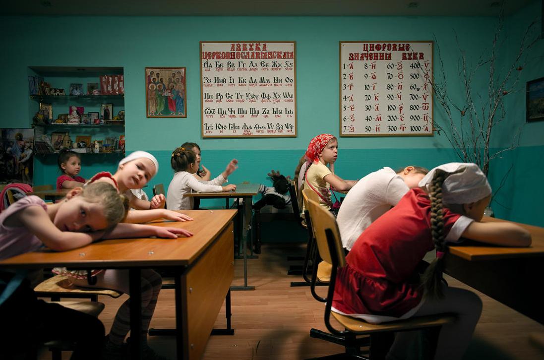 Norilsk school girls