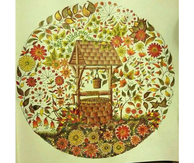 secret garden coloring book pages لم يسبق له مثيل الصور + tier3.xyz | 379x450