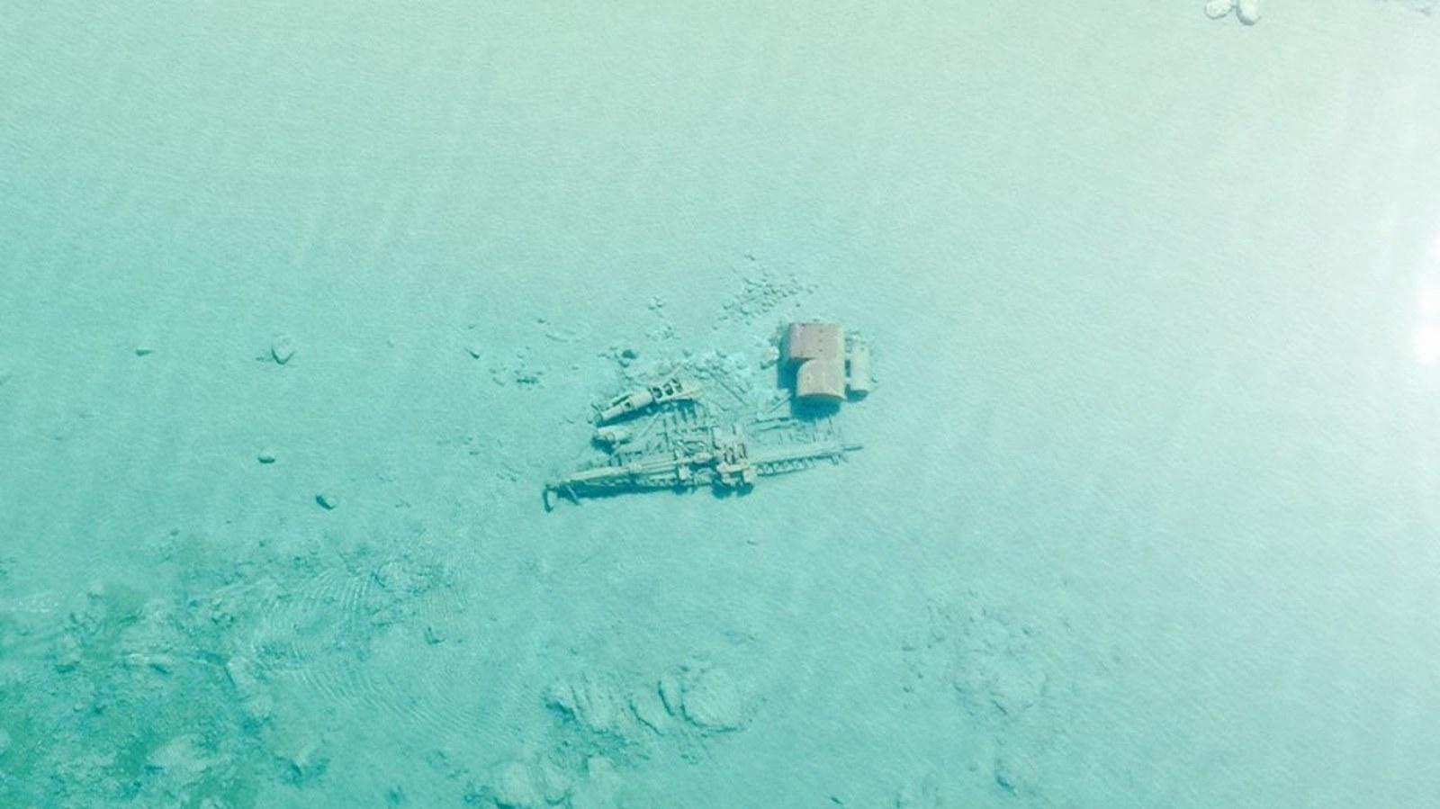 Shipwrecks feature