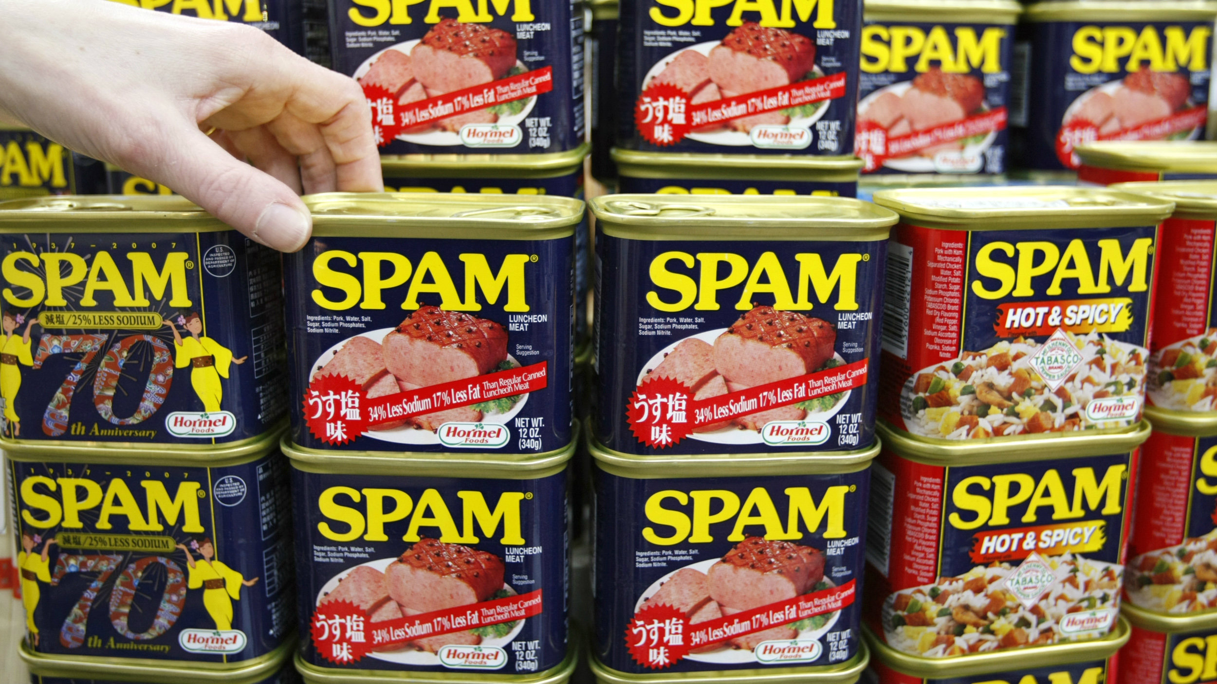 Now coming to food trucks: high-end Spam