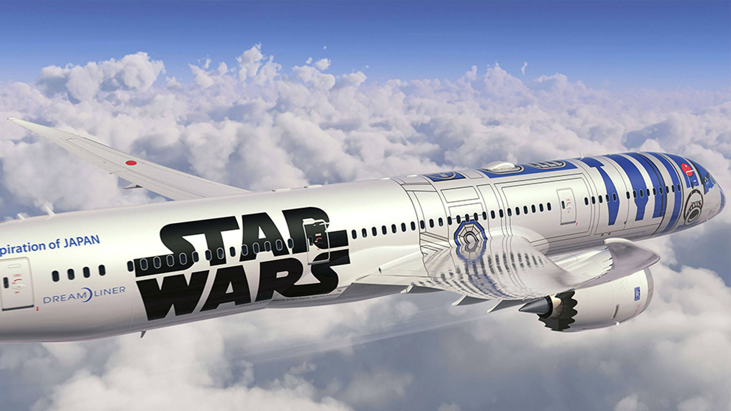 Star Wars RD-D2 Dreamliner