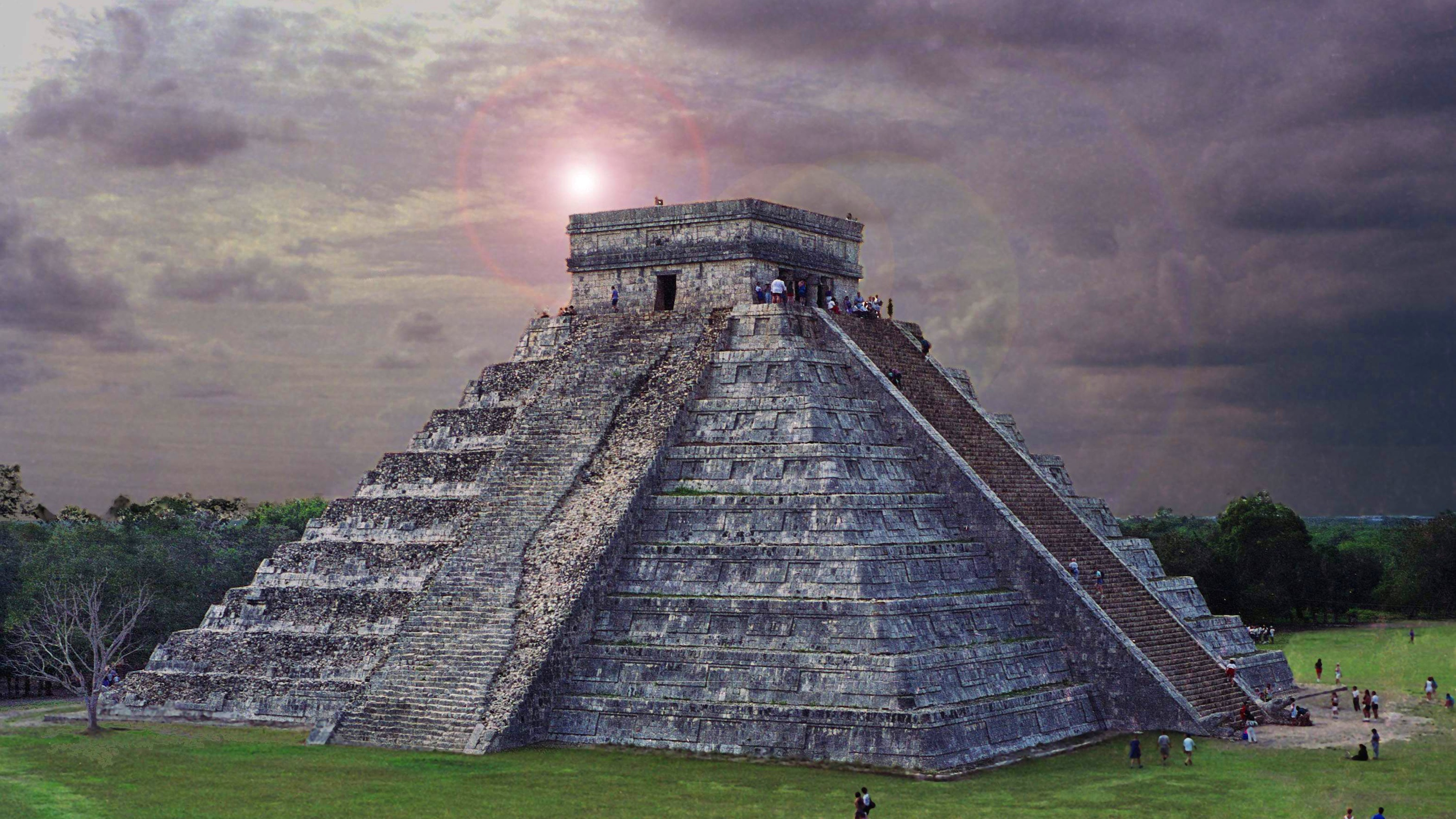 The sun set on the Aztec empire for some interesting reasons.
